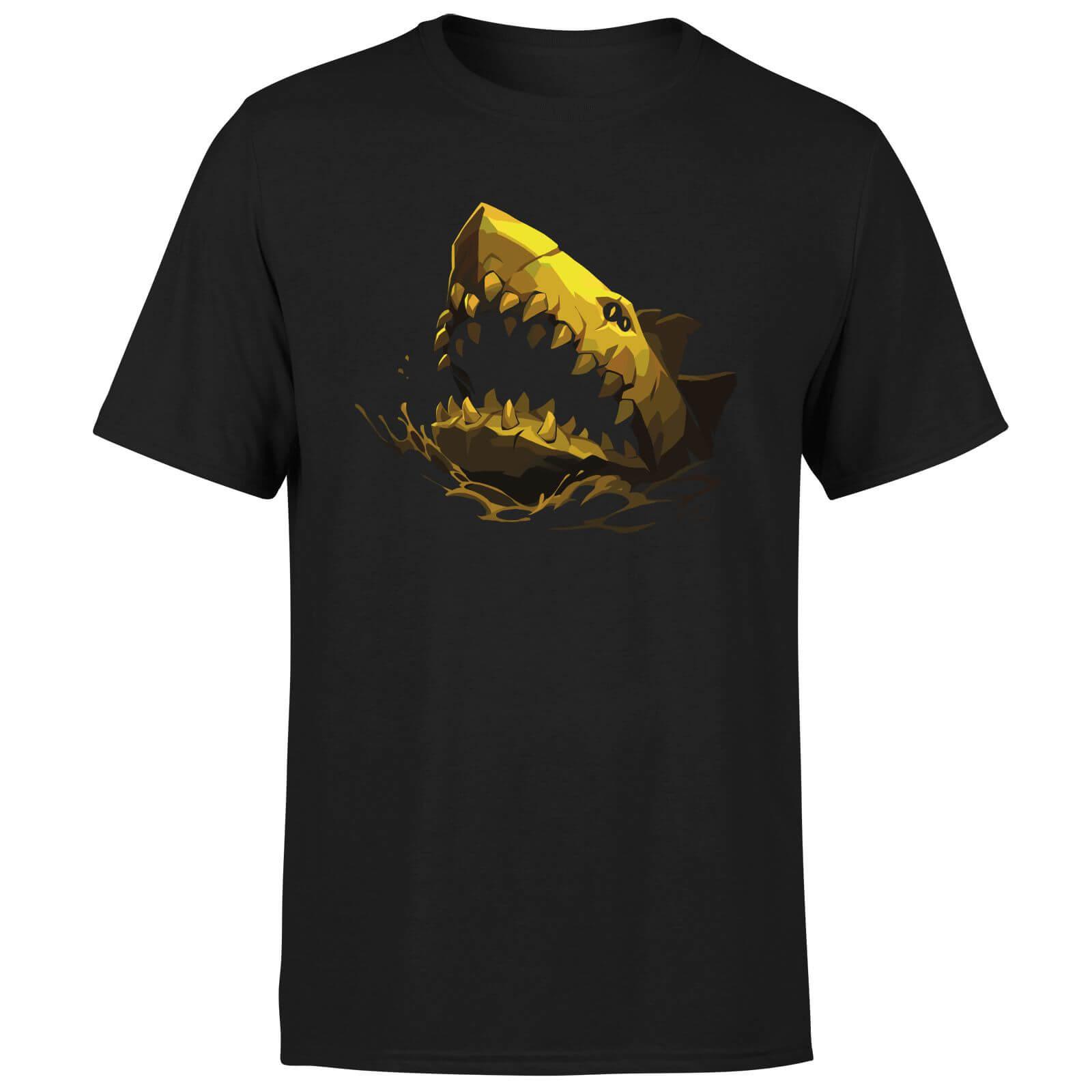 Sea of Thieves Gilded Megalodon T-Shirt - Black - XL - Black