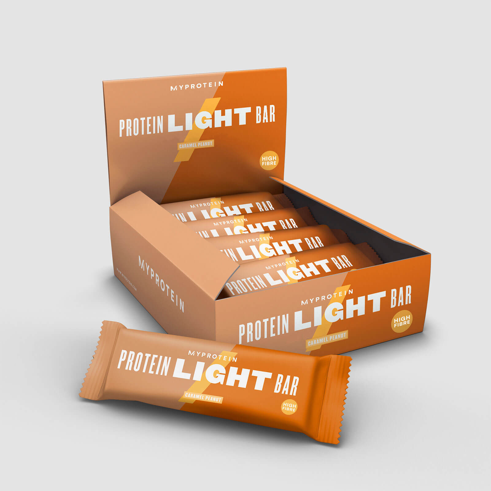 MyLight Bar - 12 x 65g - Caramel et cacahuetes