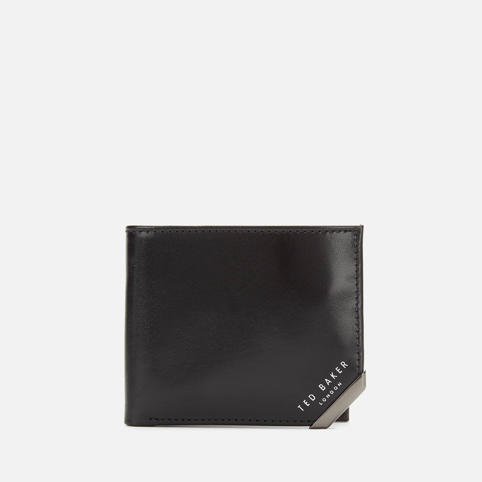 Ted Baker Men's Korning Corner Detail Wallet - Black