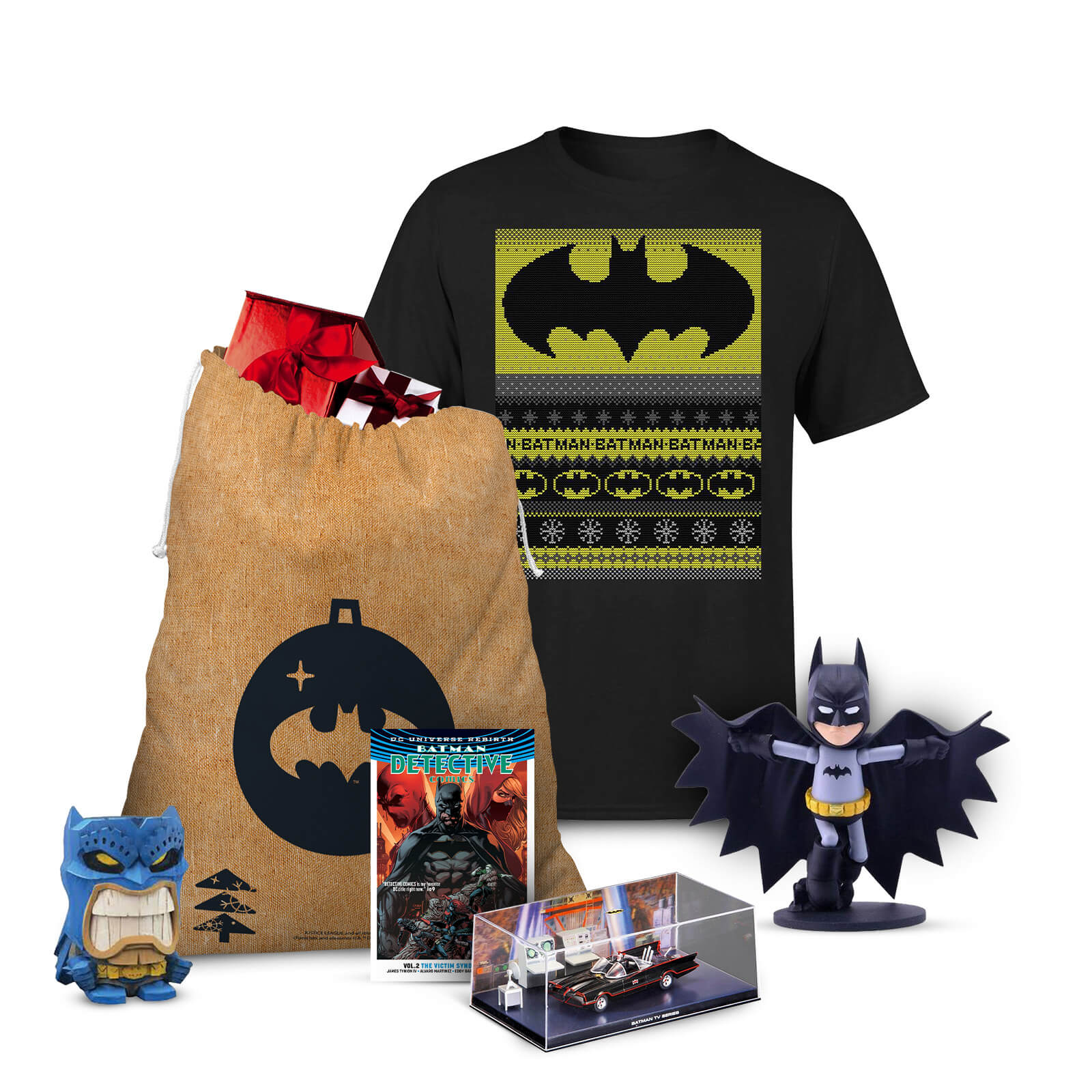 Image of DC Comics Batman Officially Licensed Christmas Bundle - L
