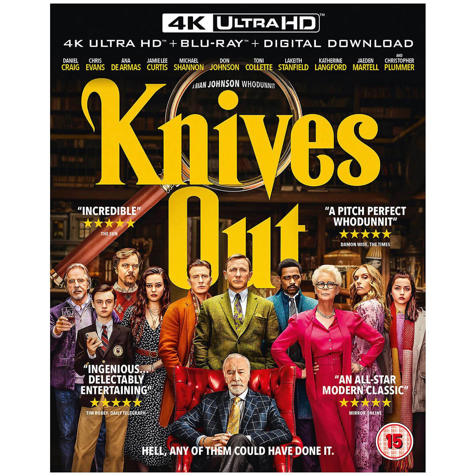 Knives Out - 4K Ultra HD (Includes 2D Blu-ray)