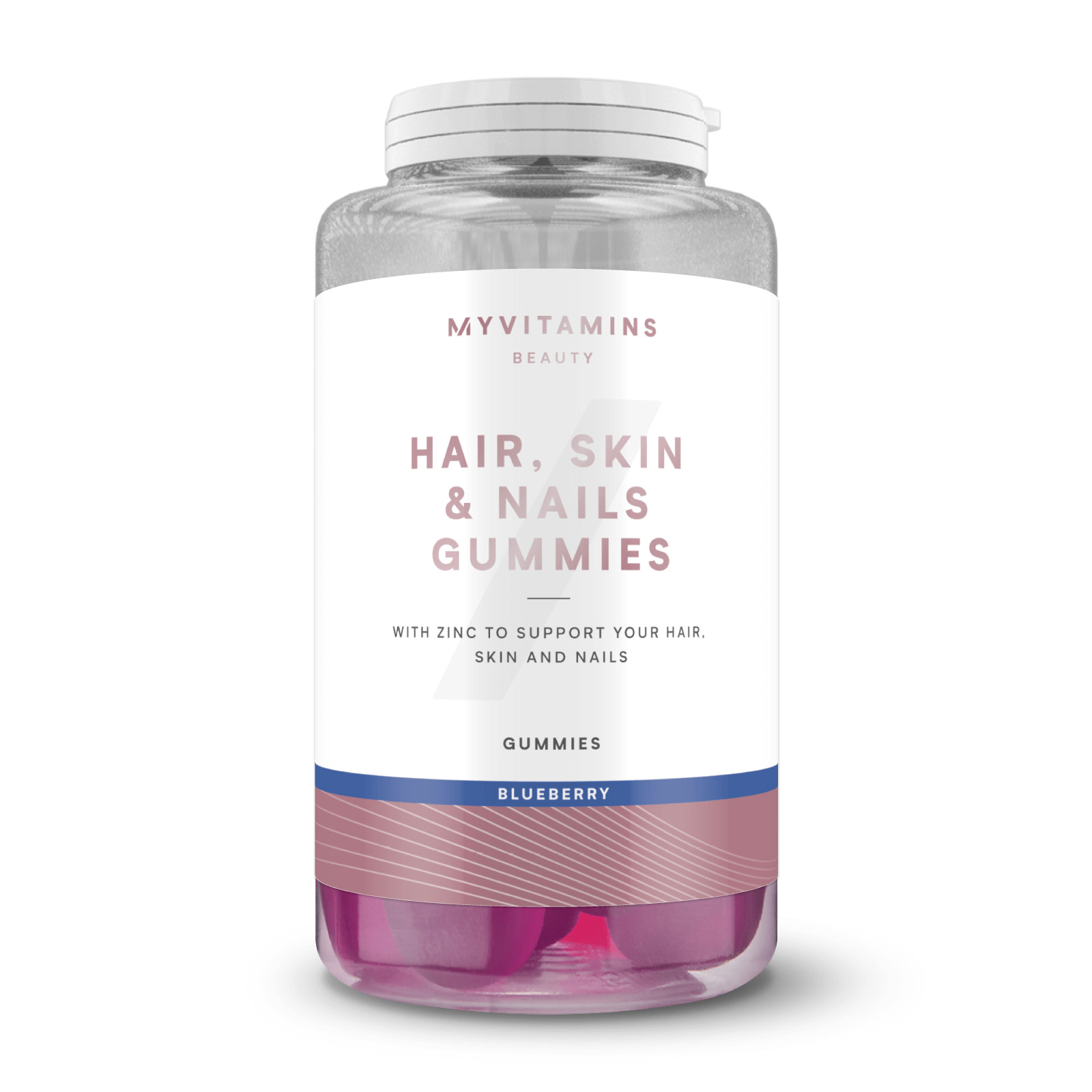 Купить Жевательный мармелад Hair, Skin and Nails - 30servings - Черника, Myprotein International