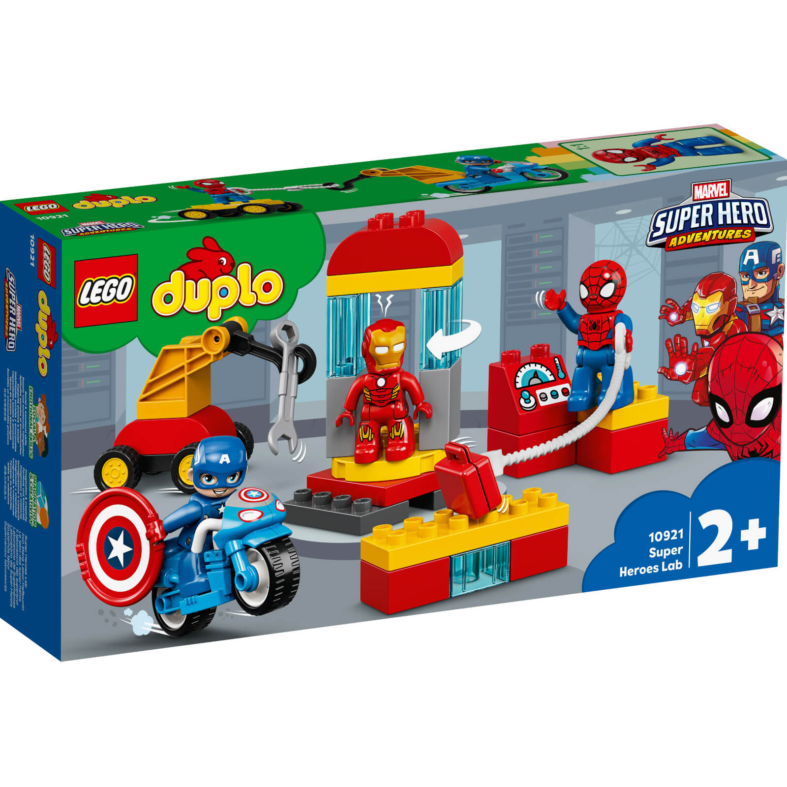 Image of 10921 LEGO® DUPLO® Iron Mans Lab Meeting Point
