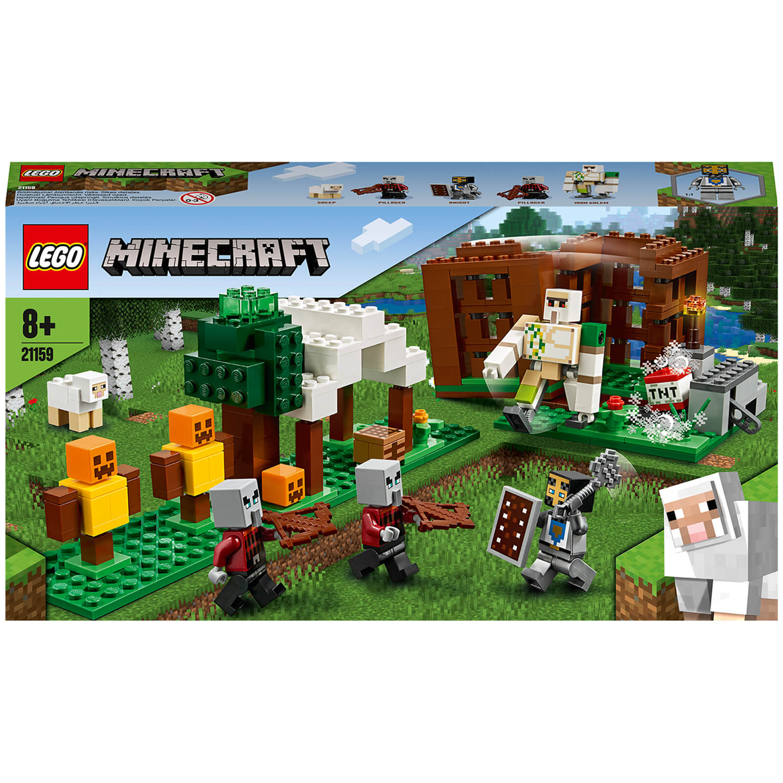 Image of 21159 LEGO® MINECRAFT The loot outpost