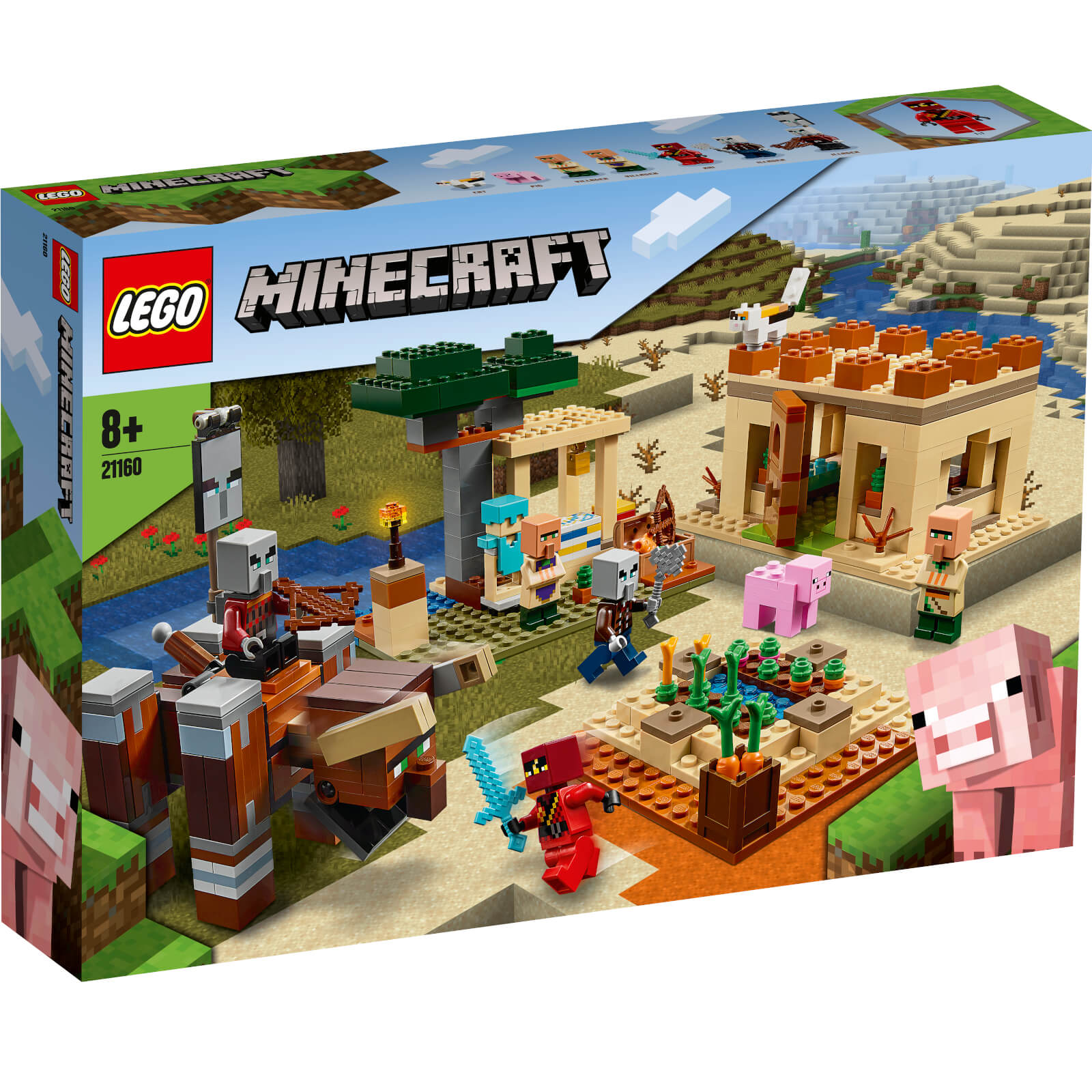 Image of 21160 LEGO® MINECRAFT The Illager raid