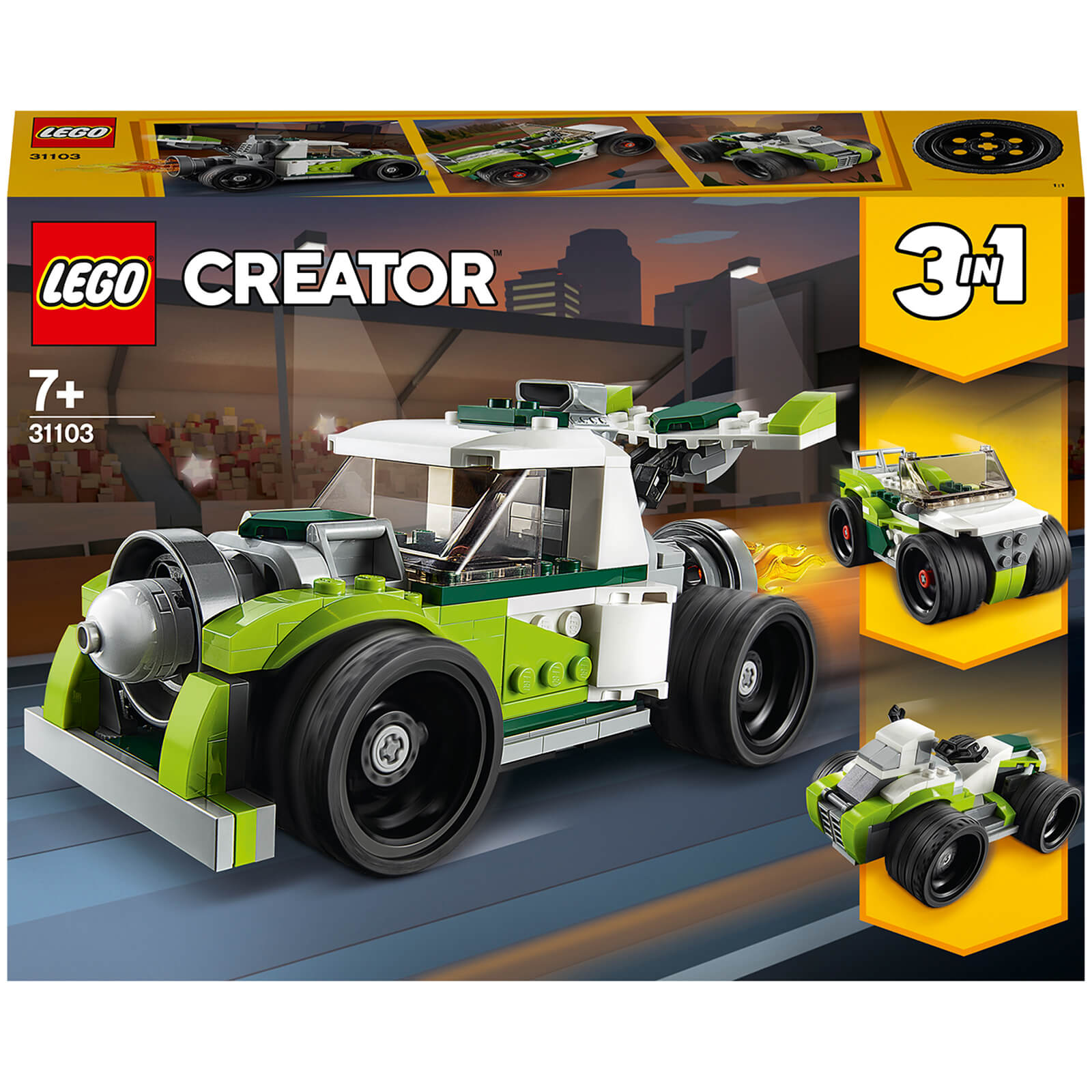 Image of LEGO Creator Rocket Truck - 31103