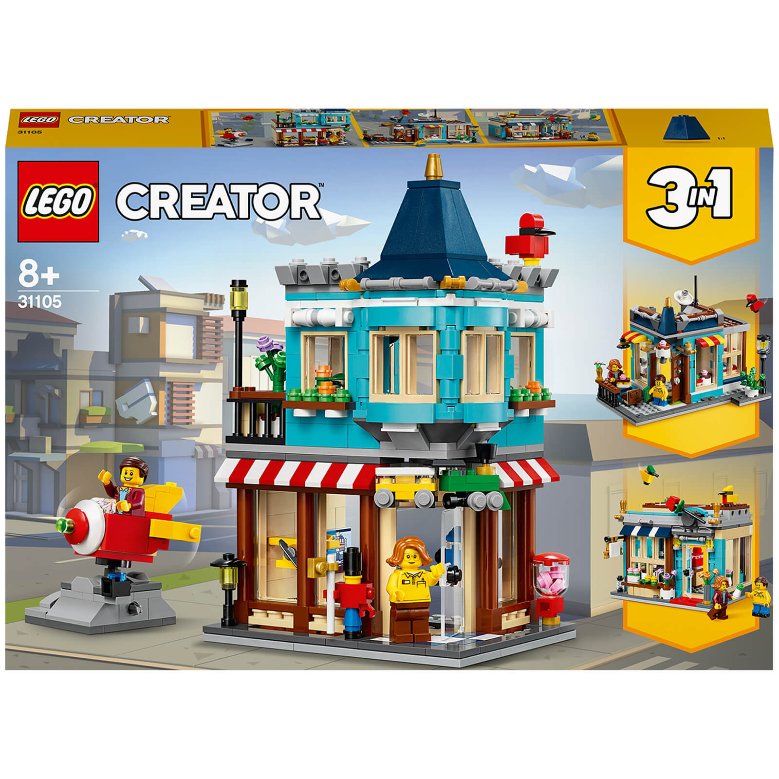 Image of 31105 LEGO® CREATOR Toy store in town house