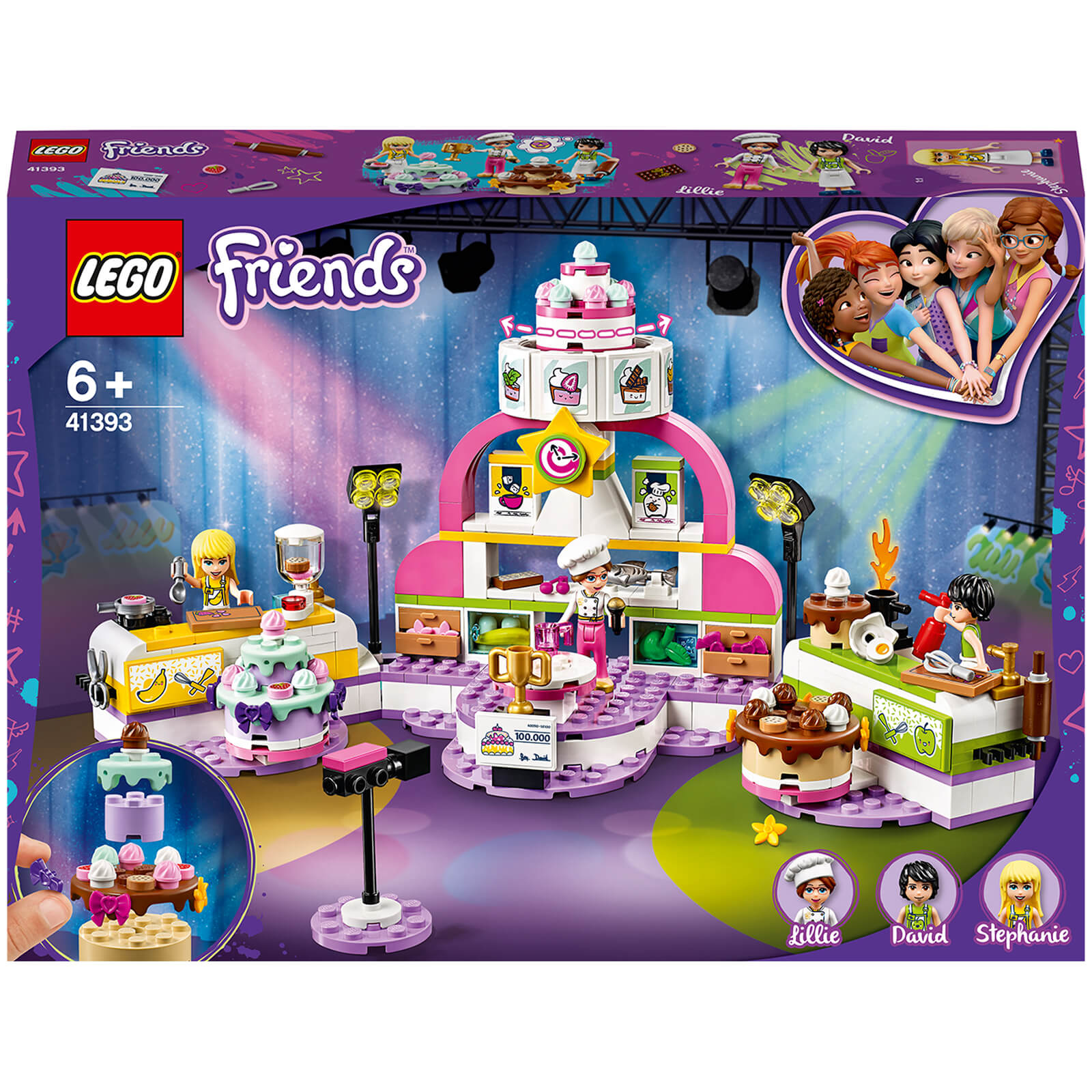 Image of 41393 LEGO® FRIENDS The big backshow