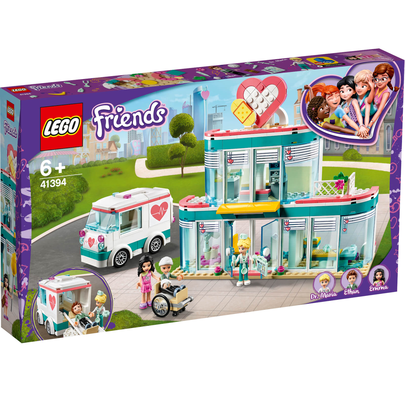 Image of 41394 LEGO® FRIENDS Hospital of Heartlake City
