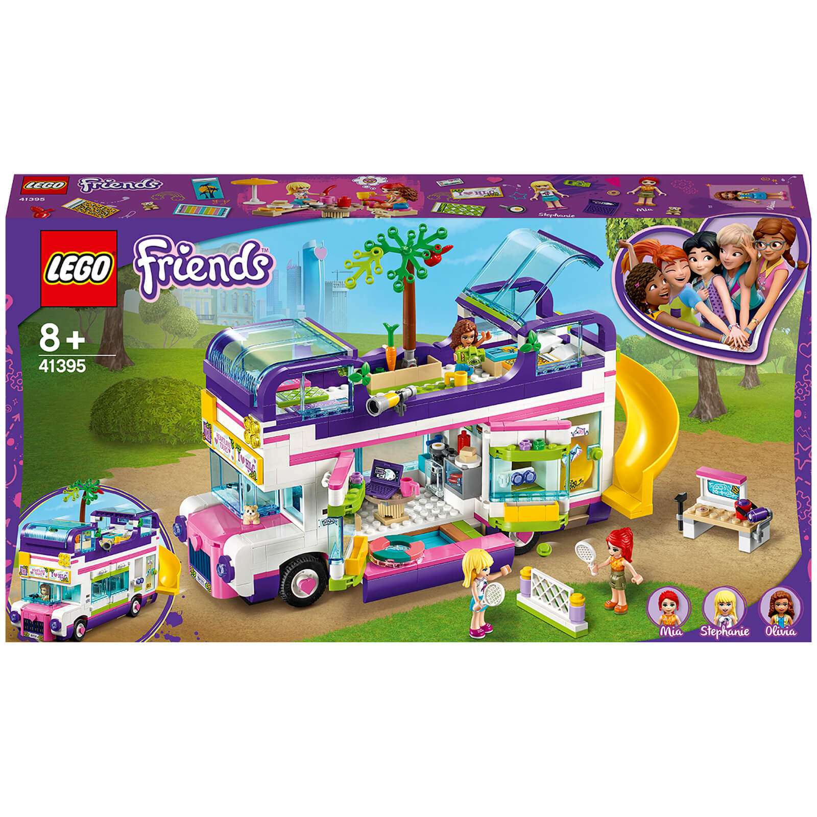 Image of 41395 LEGO® FRIENDS Friend bus