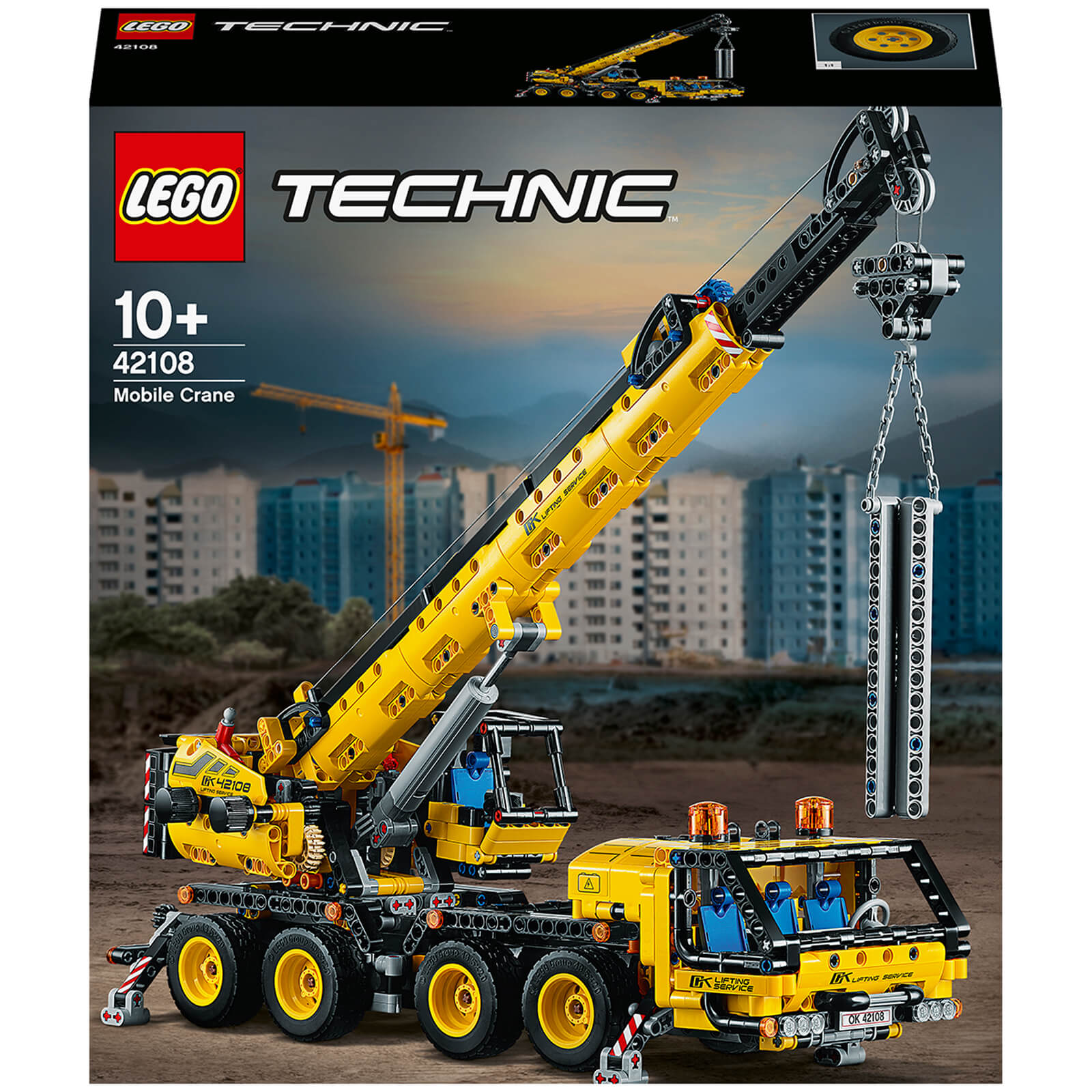 Image of 42108 LEGO® TECHNIC Crane truck