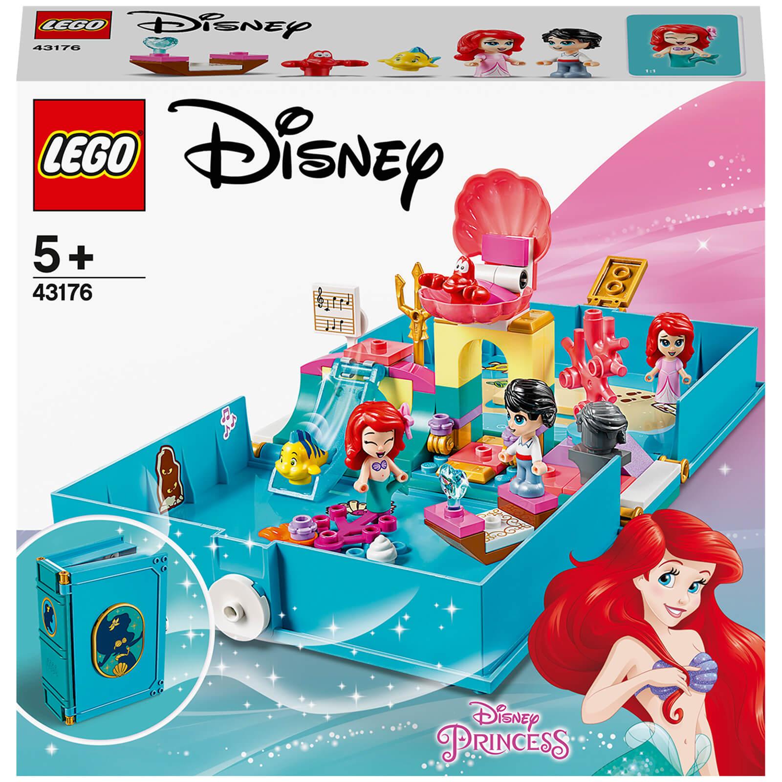lego disney princess: ariel's storybook adventures set (43176)