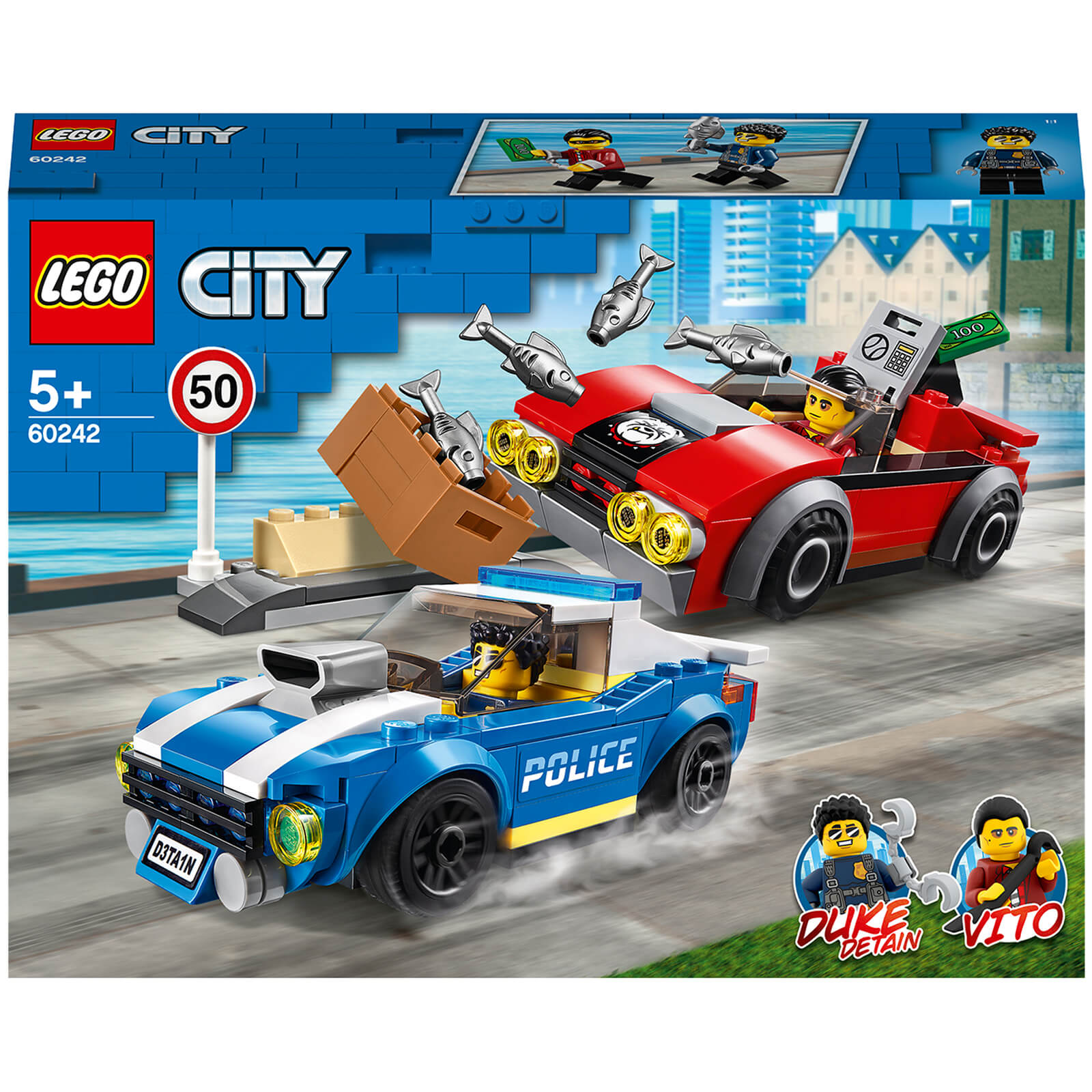 Image of 60242 LEGO® CITY Arrest on the highway