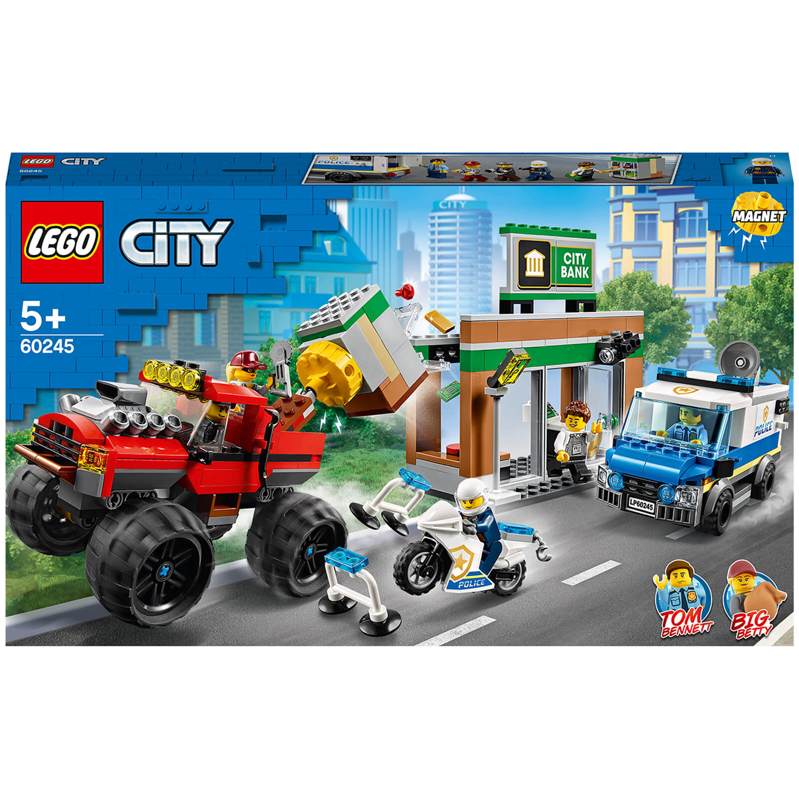Image of 60245 LEGO® CITY Robbery with the Monster Truck