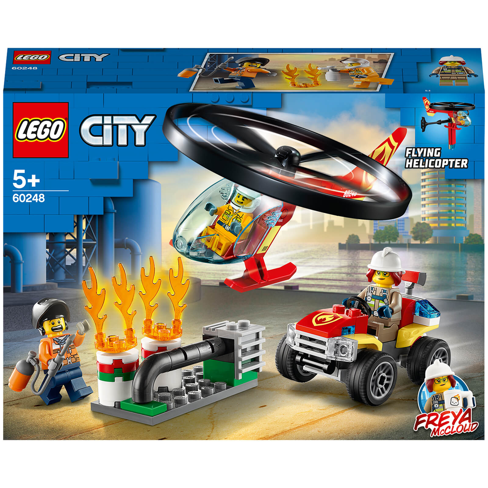 Image of 60248 LEGO® CITY Use with the fire brigade helicopter