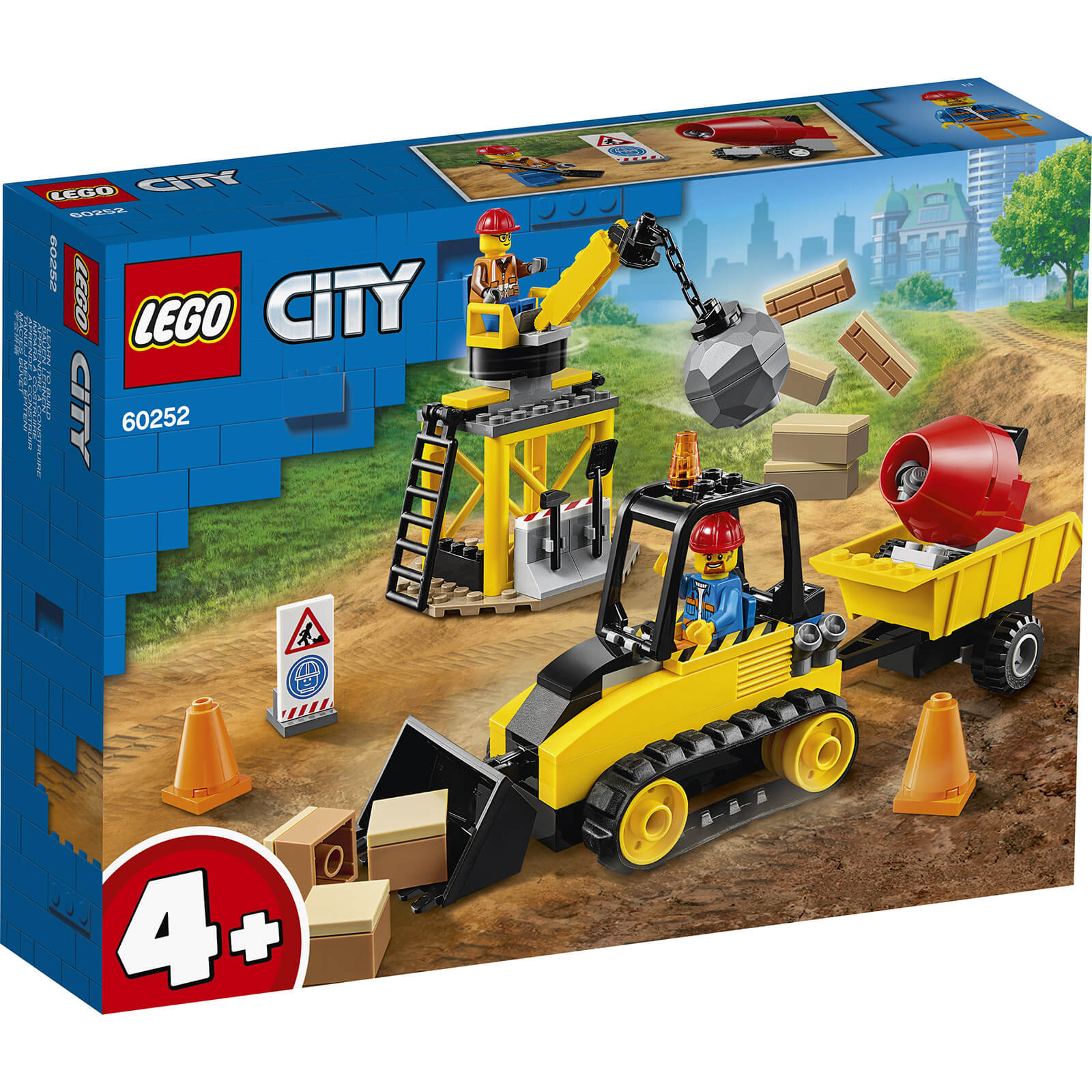 Image of 60252 LEGO® CITY Excavators on the construction site