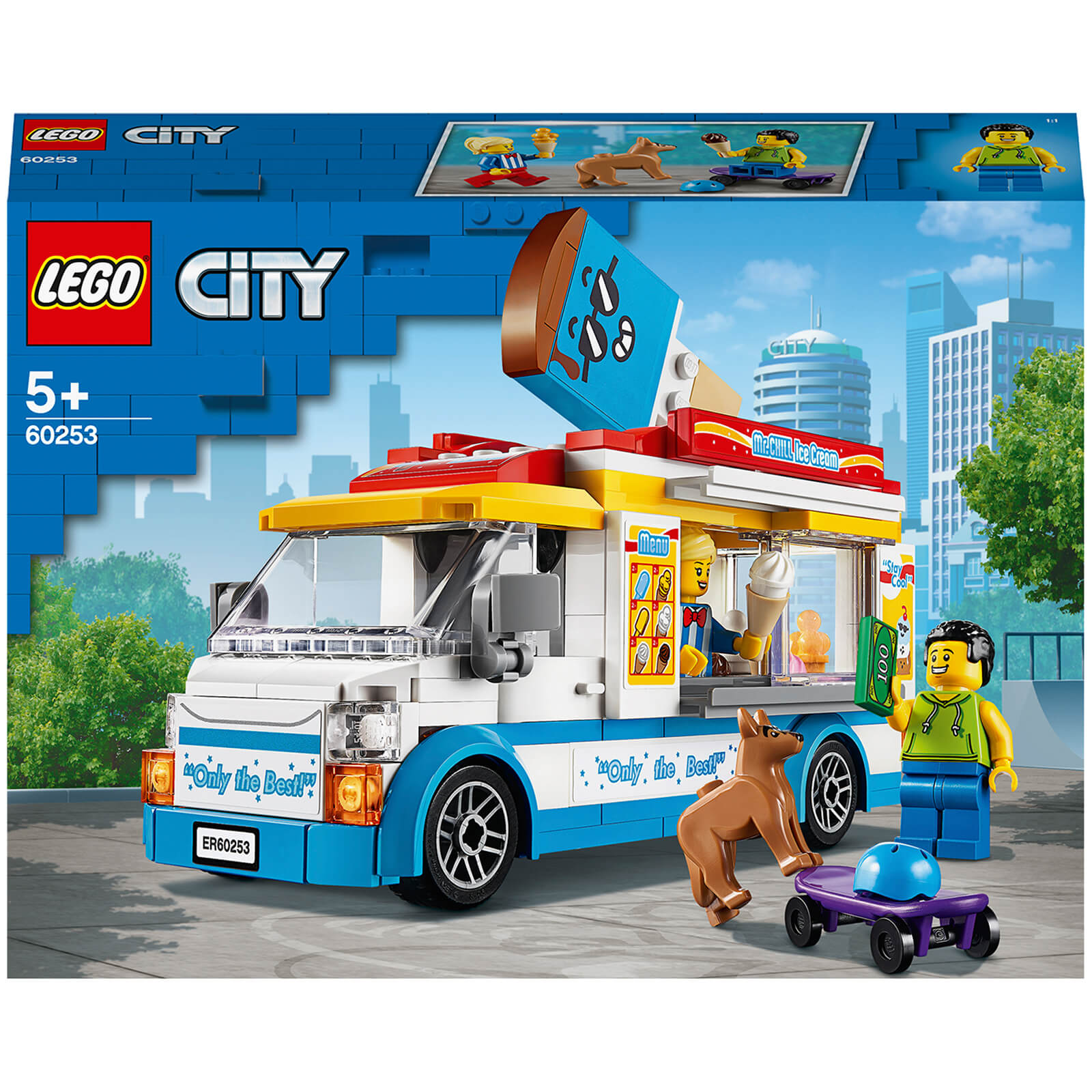LEGO City: Great Vehicles Ice Cream Truck Building Set (60253)