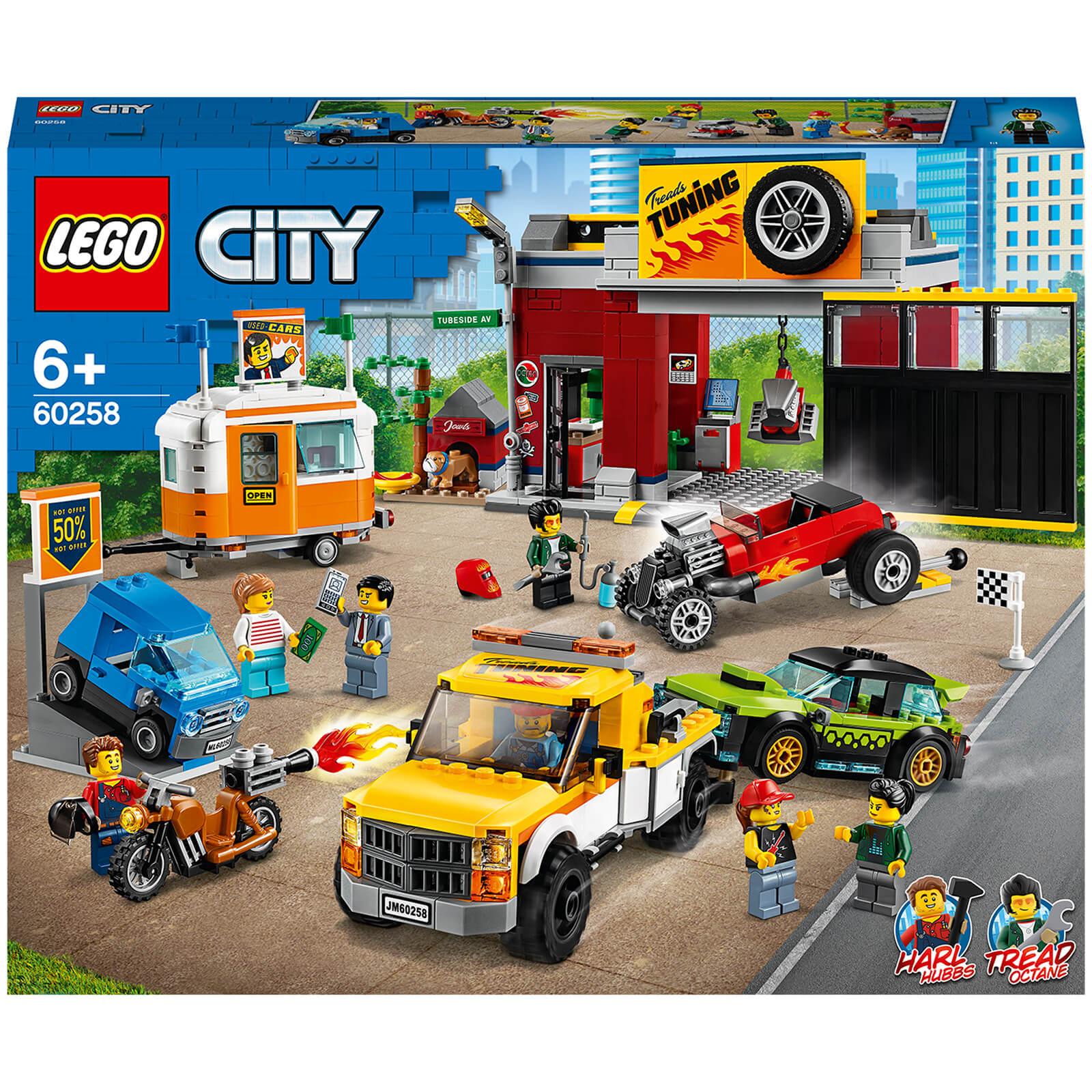 Image of 60258 LEGO® CITY Tuning workshop