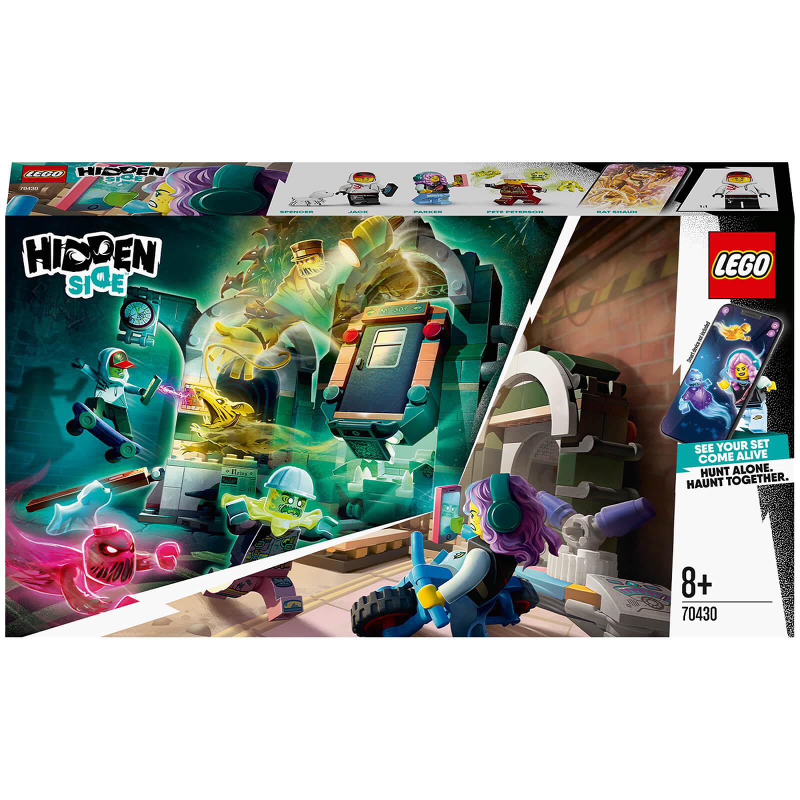 Image of LEGO Hidden Side: Newbury Subway AR Games App Set (70430)