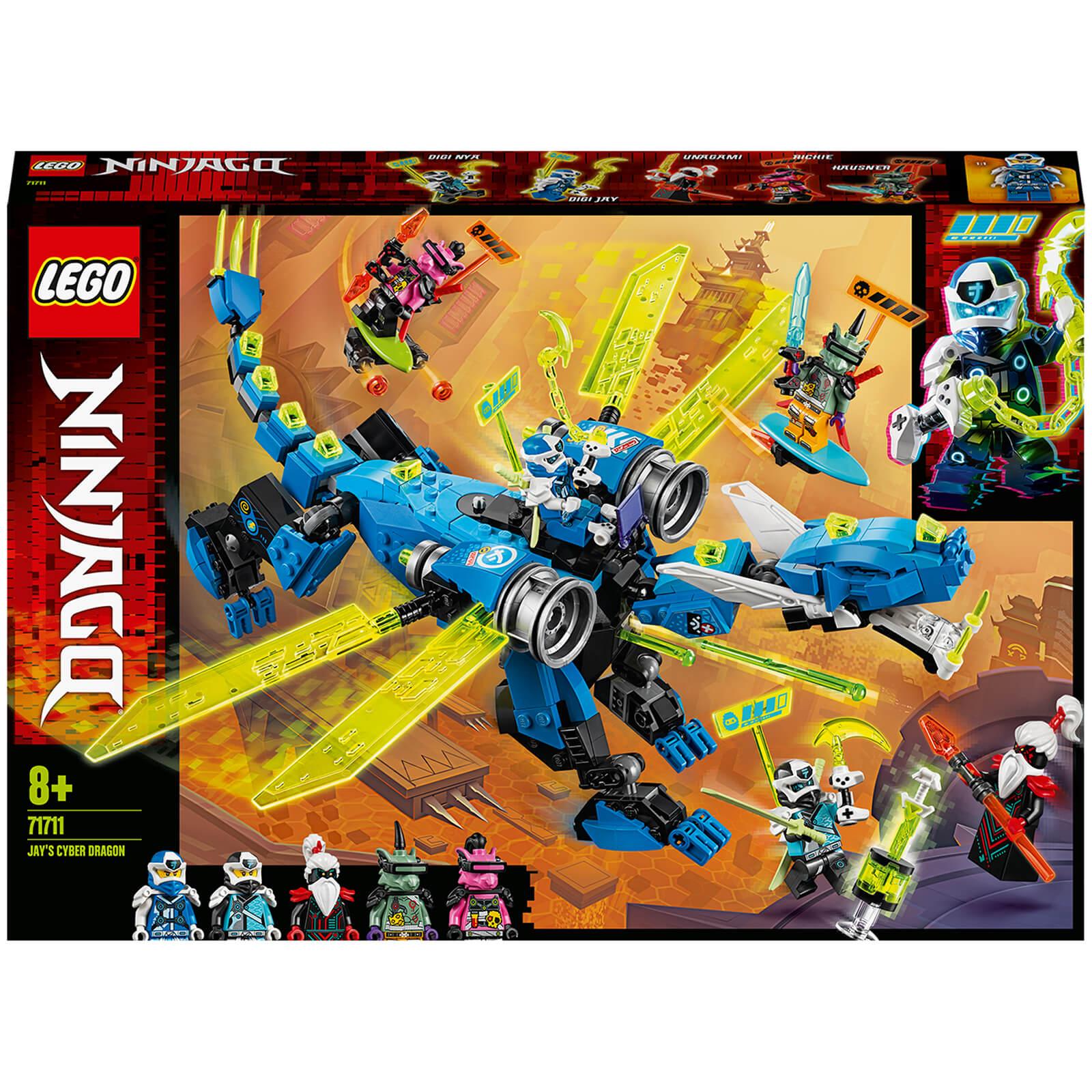 Image of 71711 LEGO® NINJAGO Jays cyber dragon