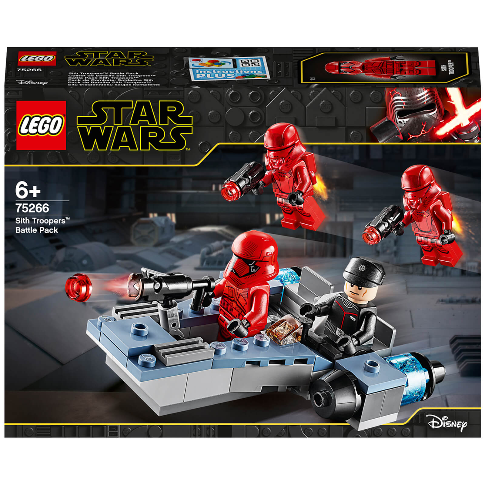 Image of 75266 LEGO® STAR WARS™ Sith Troopers™ Battle Pack