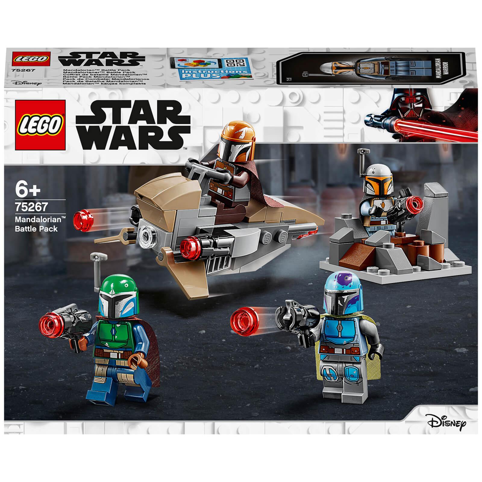 Image of LEGO Star Wars: Mandalorian Battle Pack Building Set (75267)