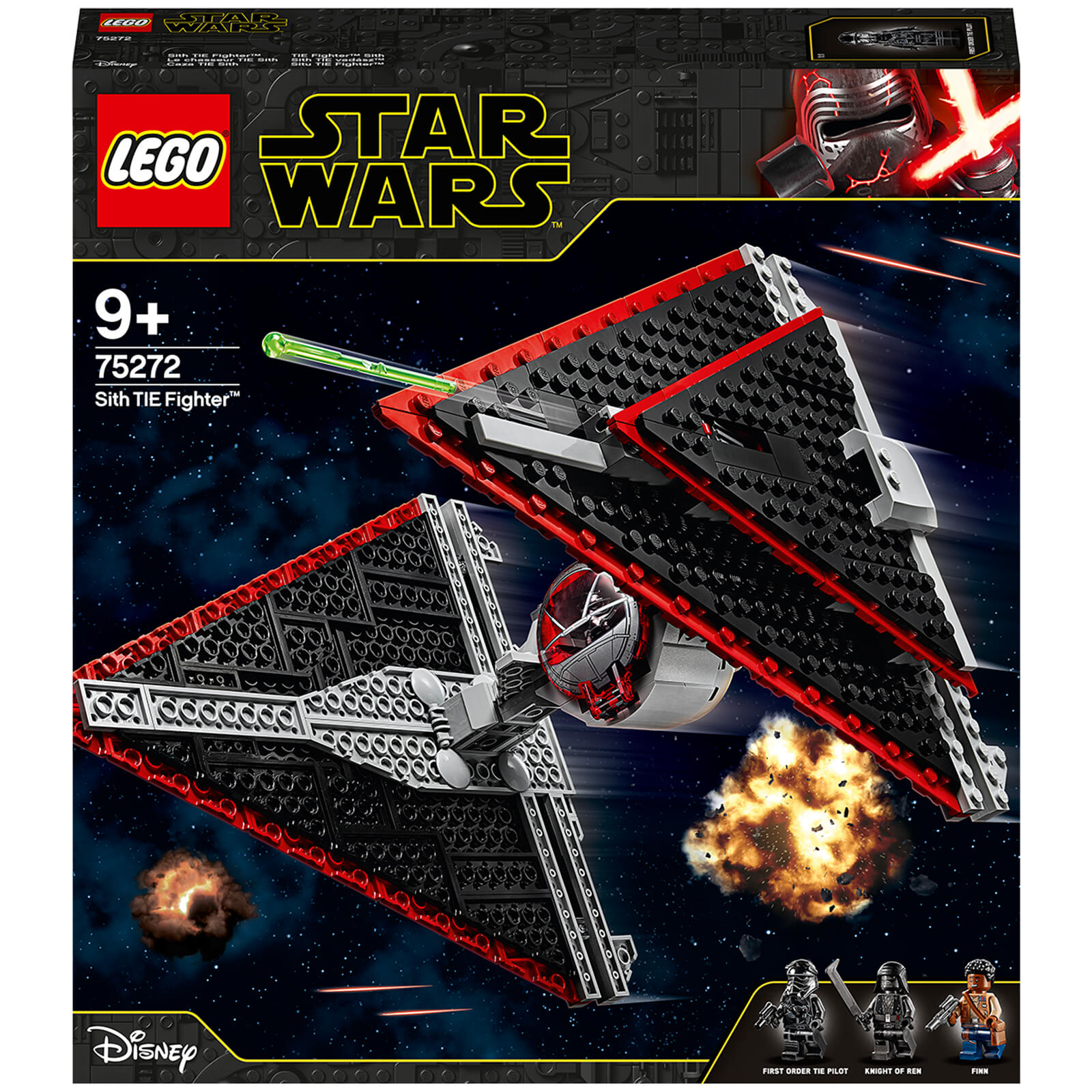 Image of 75272 LEGO® STAR WARS™ Sith TIE Fighter™