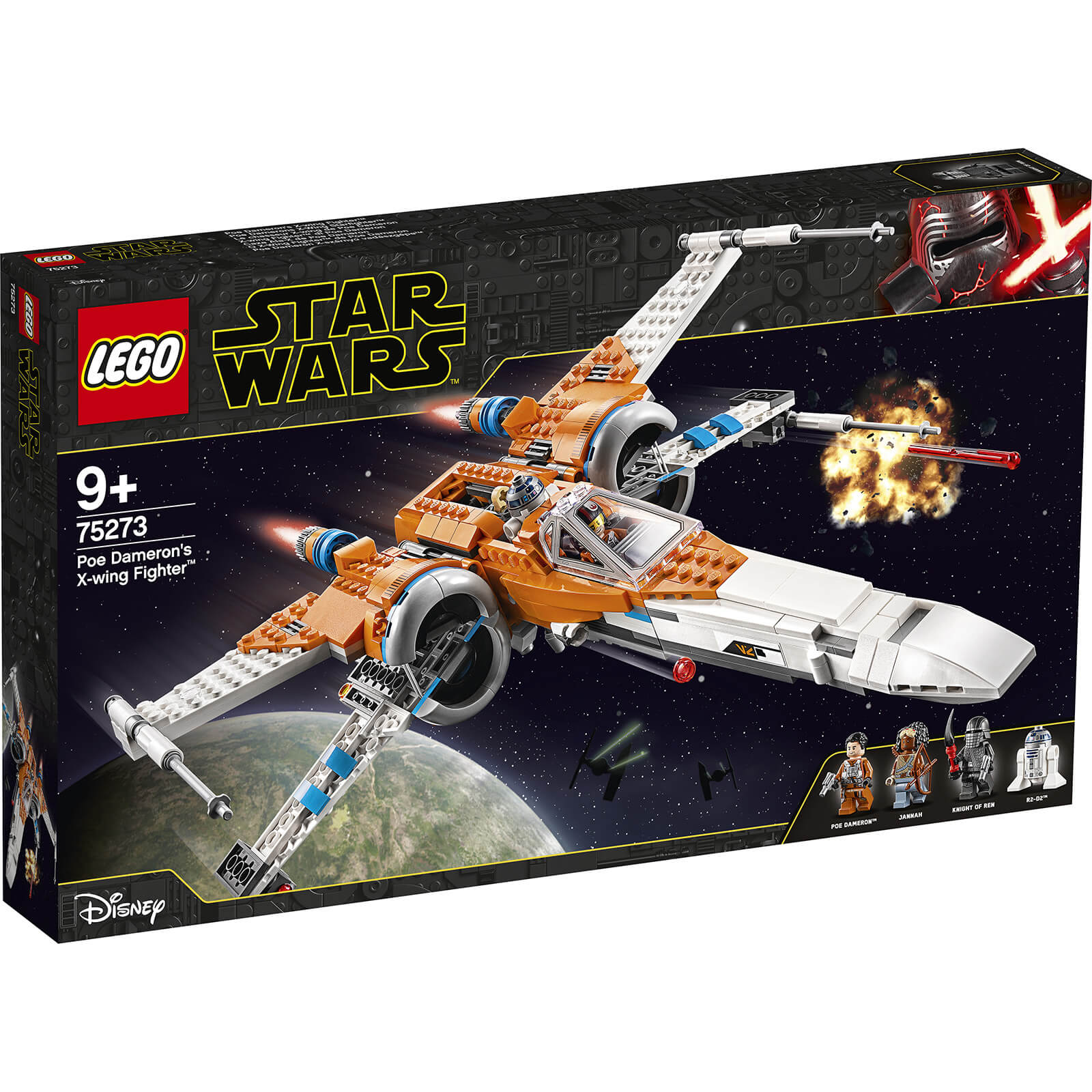 Image of 75273 LEGO® STAR WARS™ PoE Damerons X-Wing Starfighter™