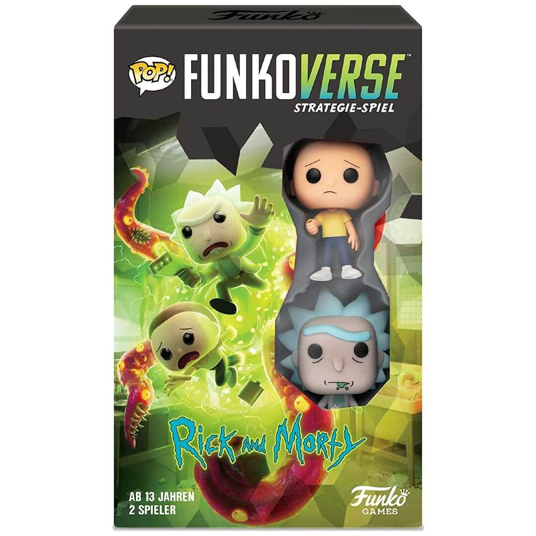 Image of Funkoverse Rick and Morty 100 Expandalone (German)