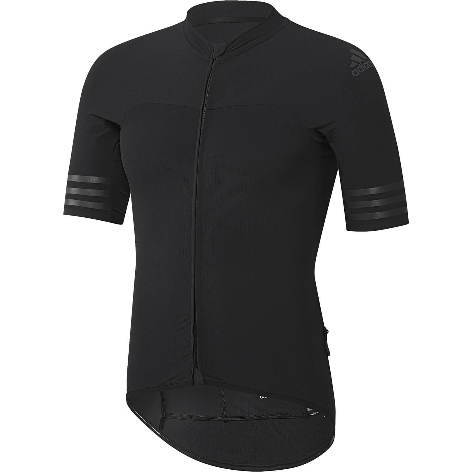 adidas Women's Adistar Cycling Jersey - Black - S