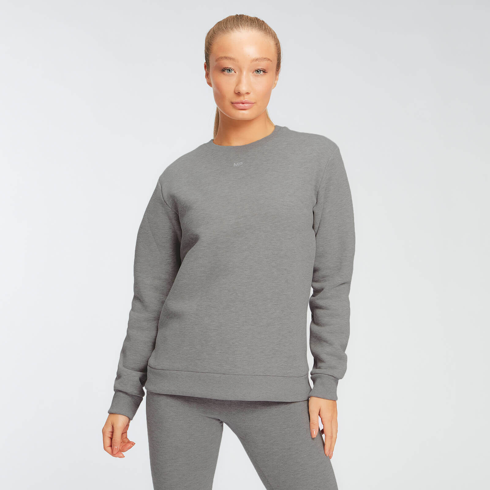 Sweat MP Essentials pour femmes – Gris chiné - XL