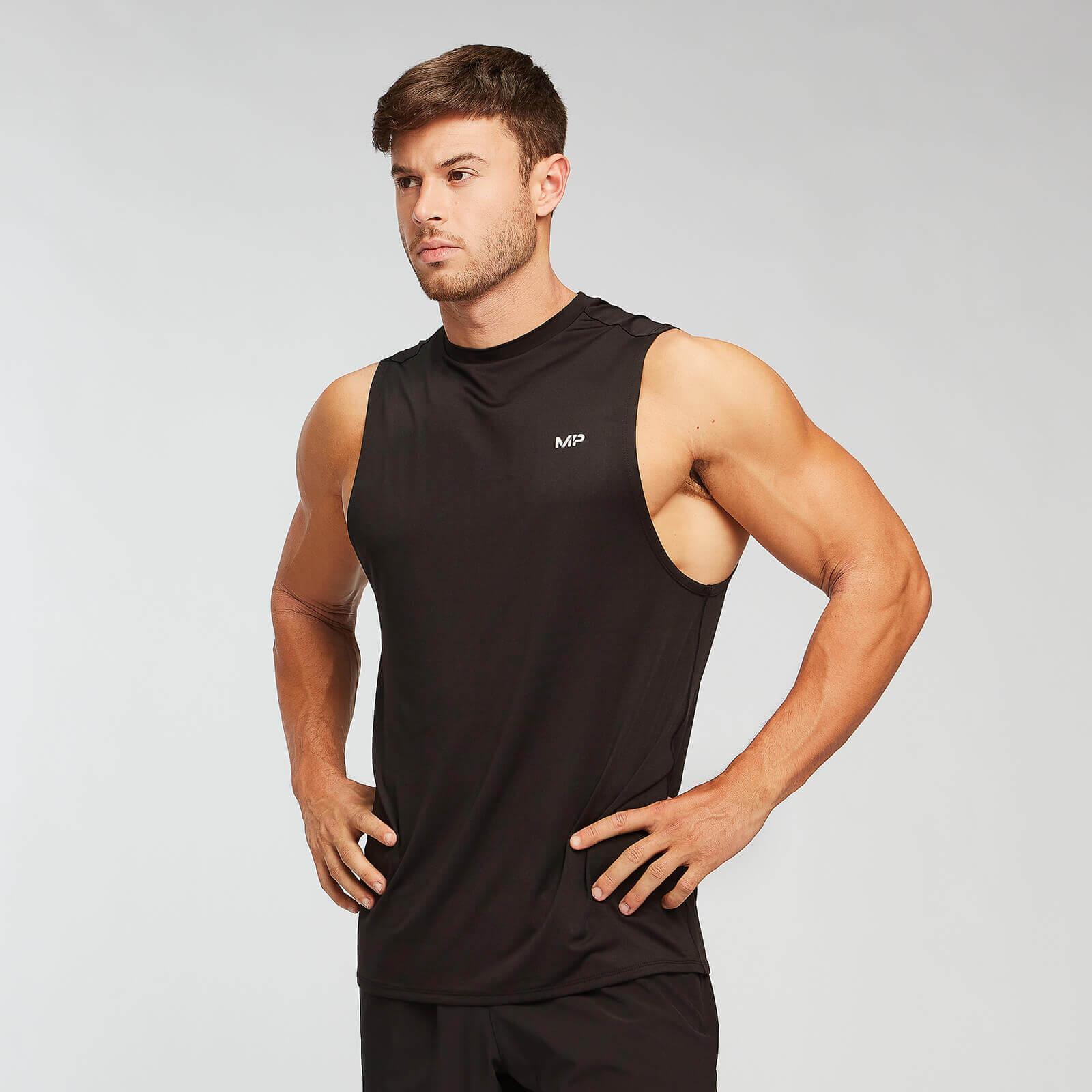 mp men's essentials tank top - black/white (2 pack) - s