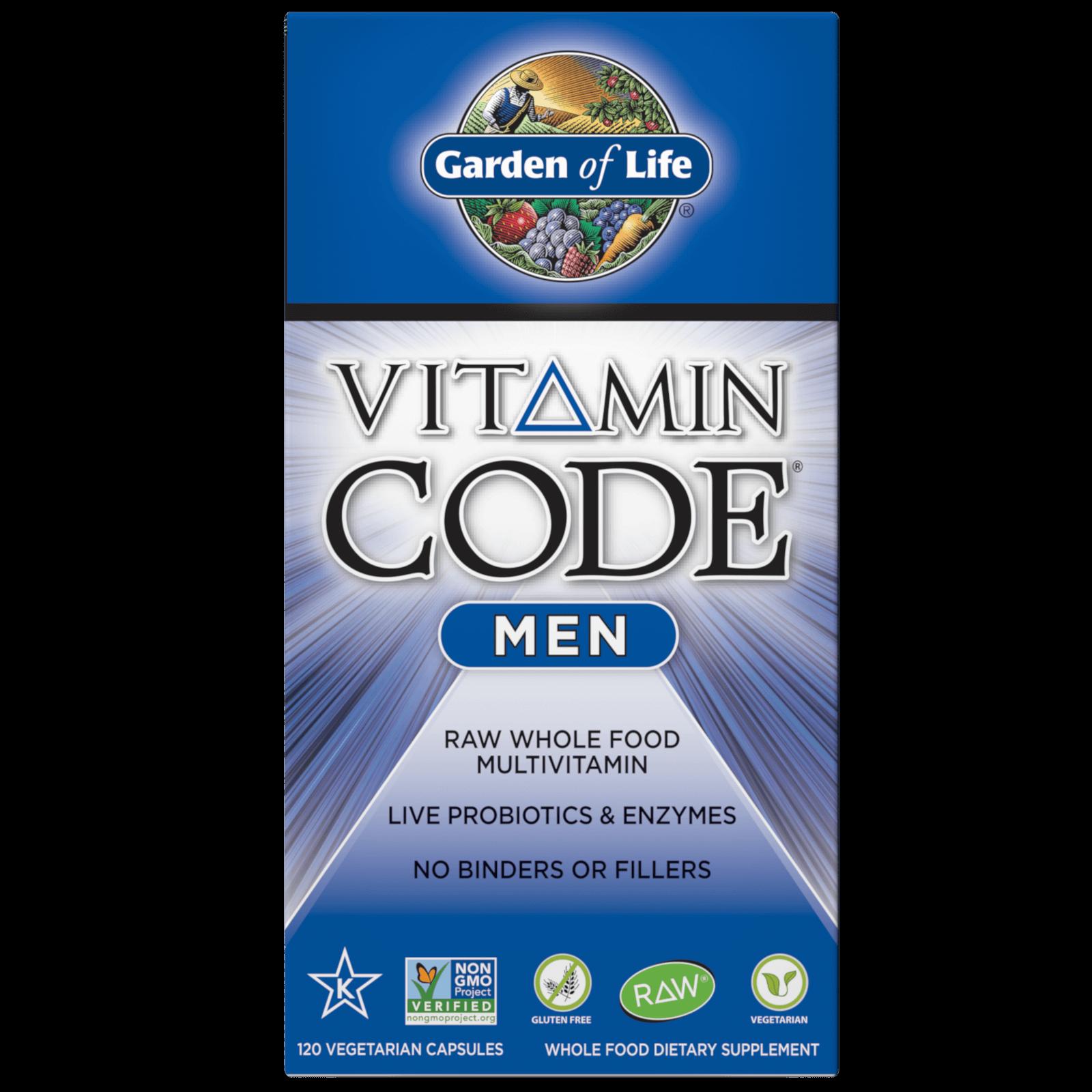 Vitamine Code Mannen - 120 capsules