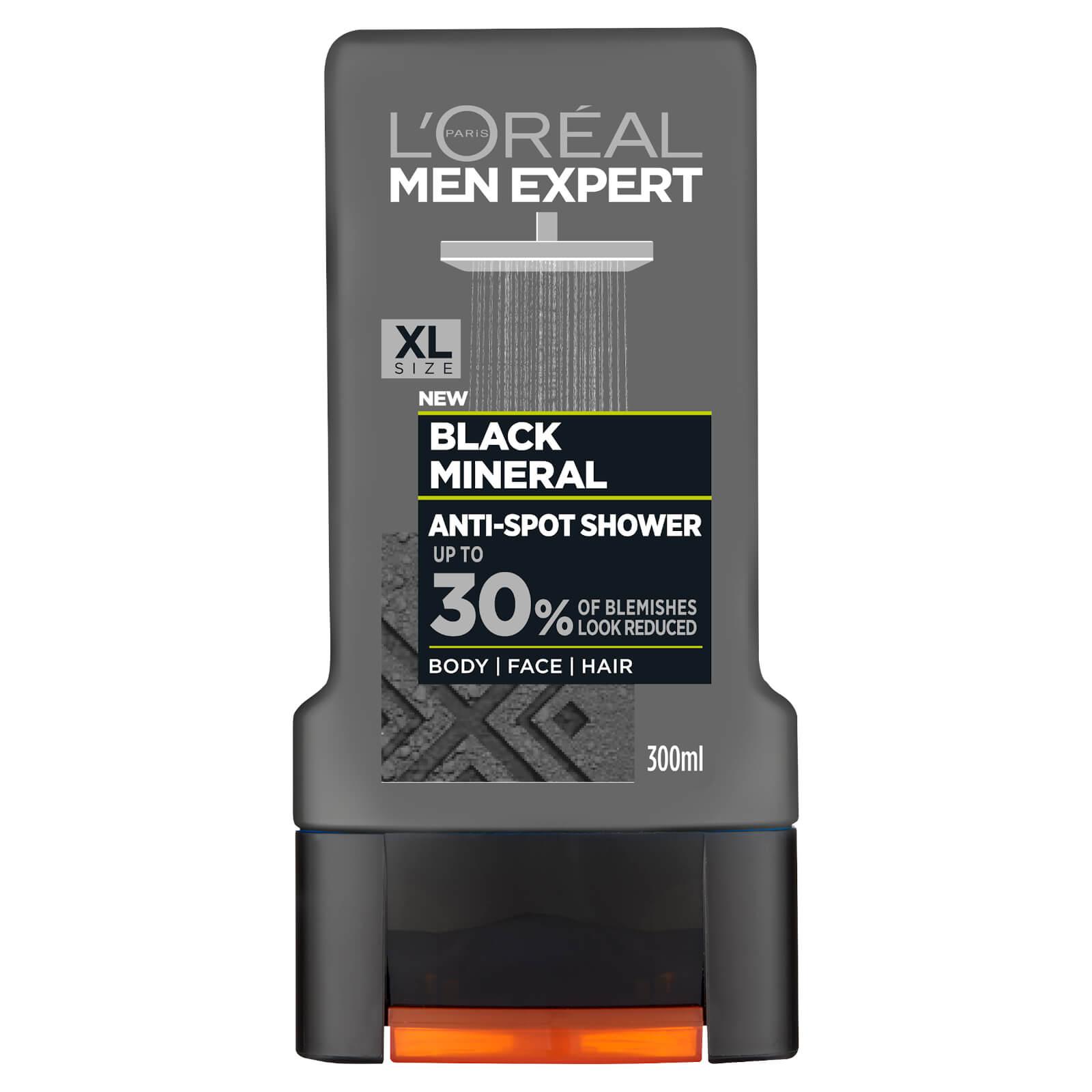 Купить L'Oréal Paris Men Expert Black Mineral Anti-Spot Shower Gel 300ml