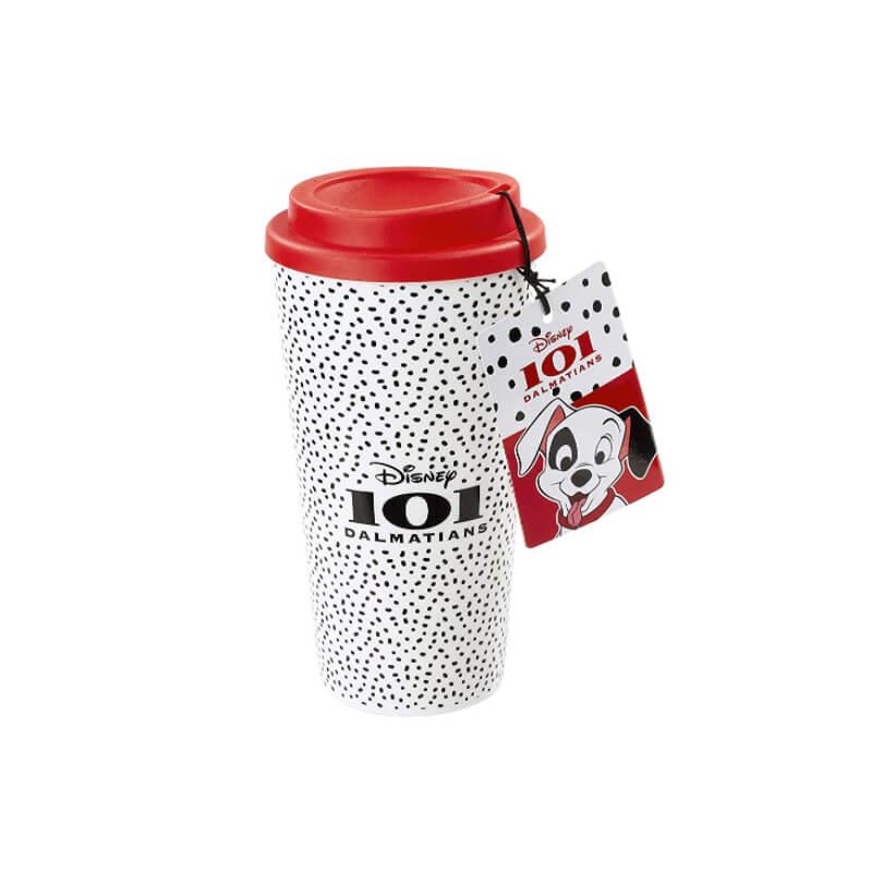 Image of Funko Homeware 101 Dalmatians Plastic Lidded Mug I Need A Nap