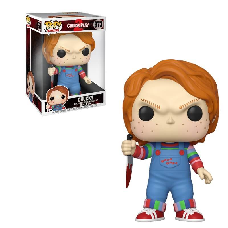 Image of A Child's Play Chucky 10-Inch Pop! Vinyl Figure