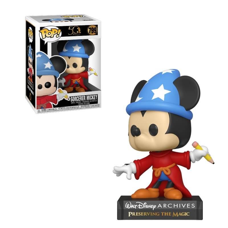 Figura Funko Pop! – Mickey Mouse Aprendiz – Disney: Archives