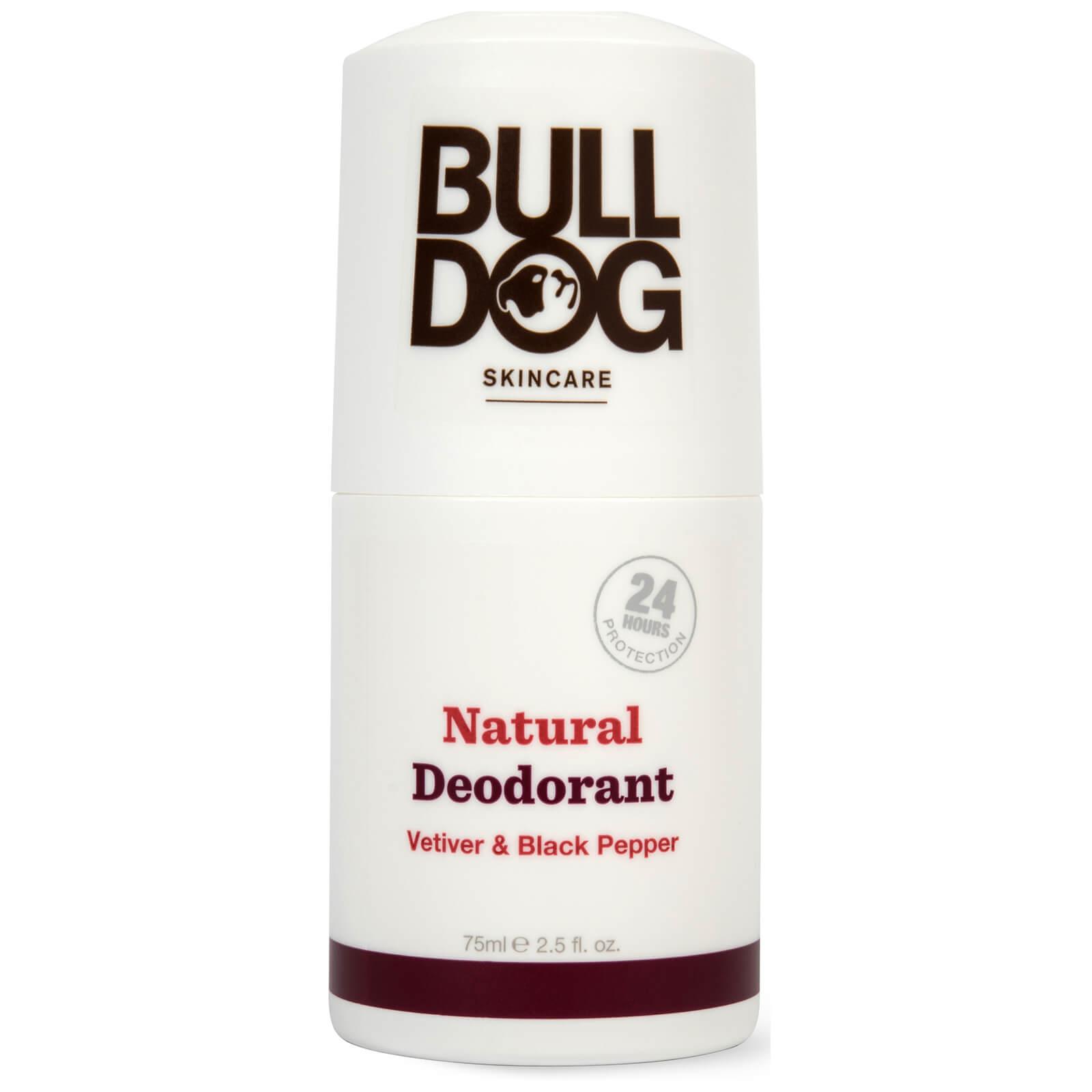 Bulldog Black Pepper & Vetiver Natural Deodorant 75ml