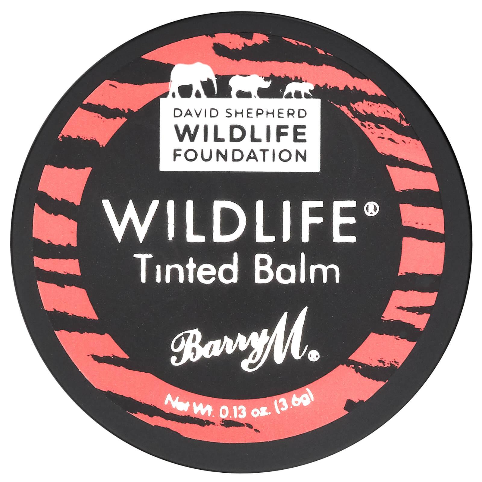 Barry M Cosmetics Wildlife Lip Balm 3.6g (Various Shades) - Sunset Pink