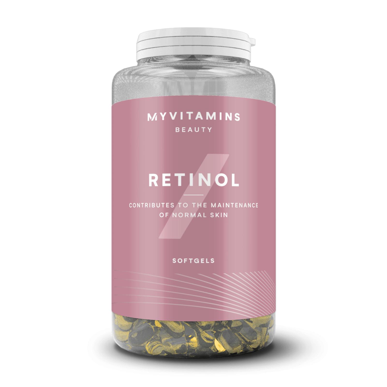 Myvitamins Retinol Softgels - 90Softgels