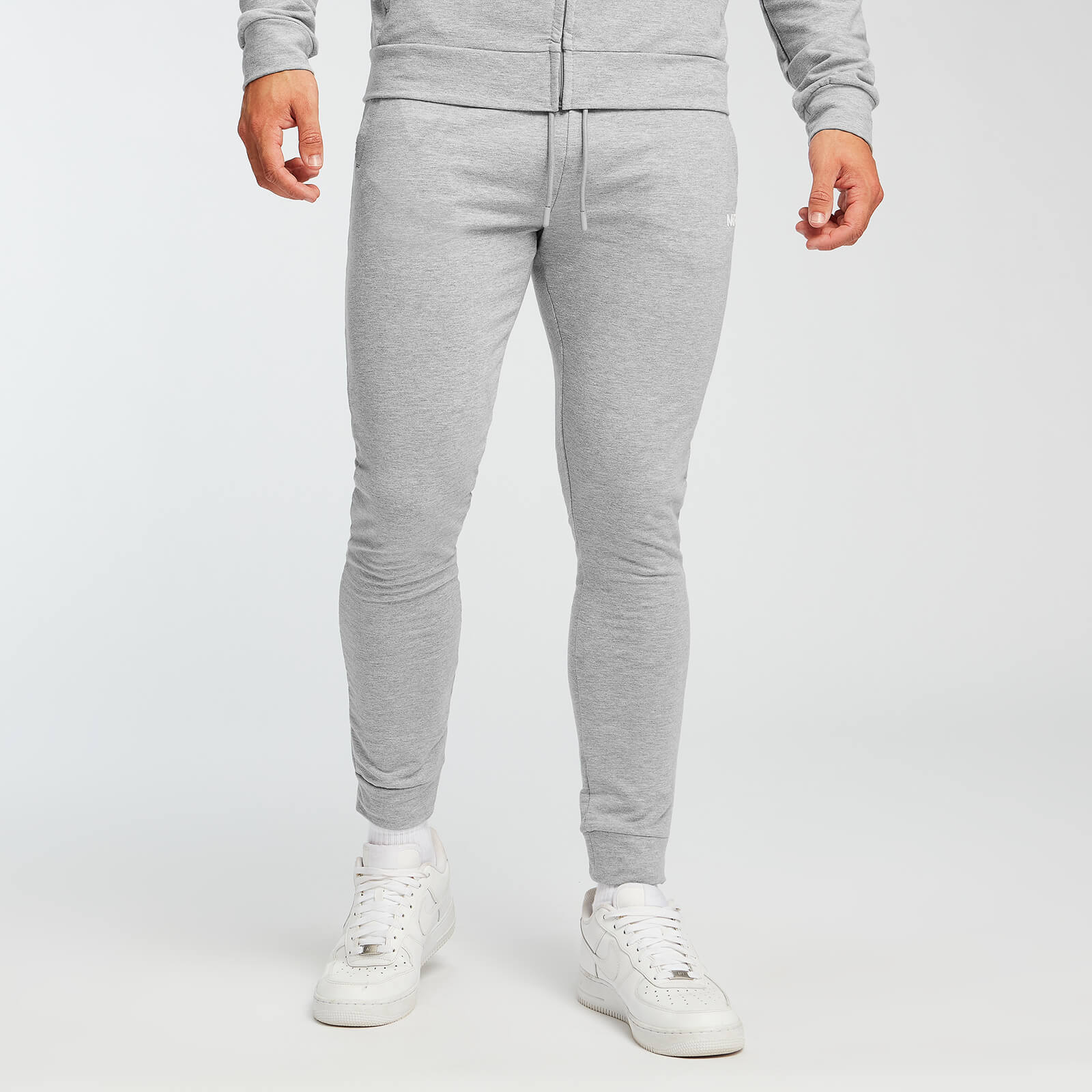 Jogging slim MP Form pour hommes – Gris chiné - XL