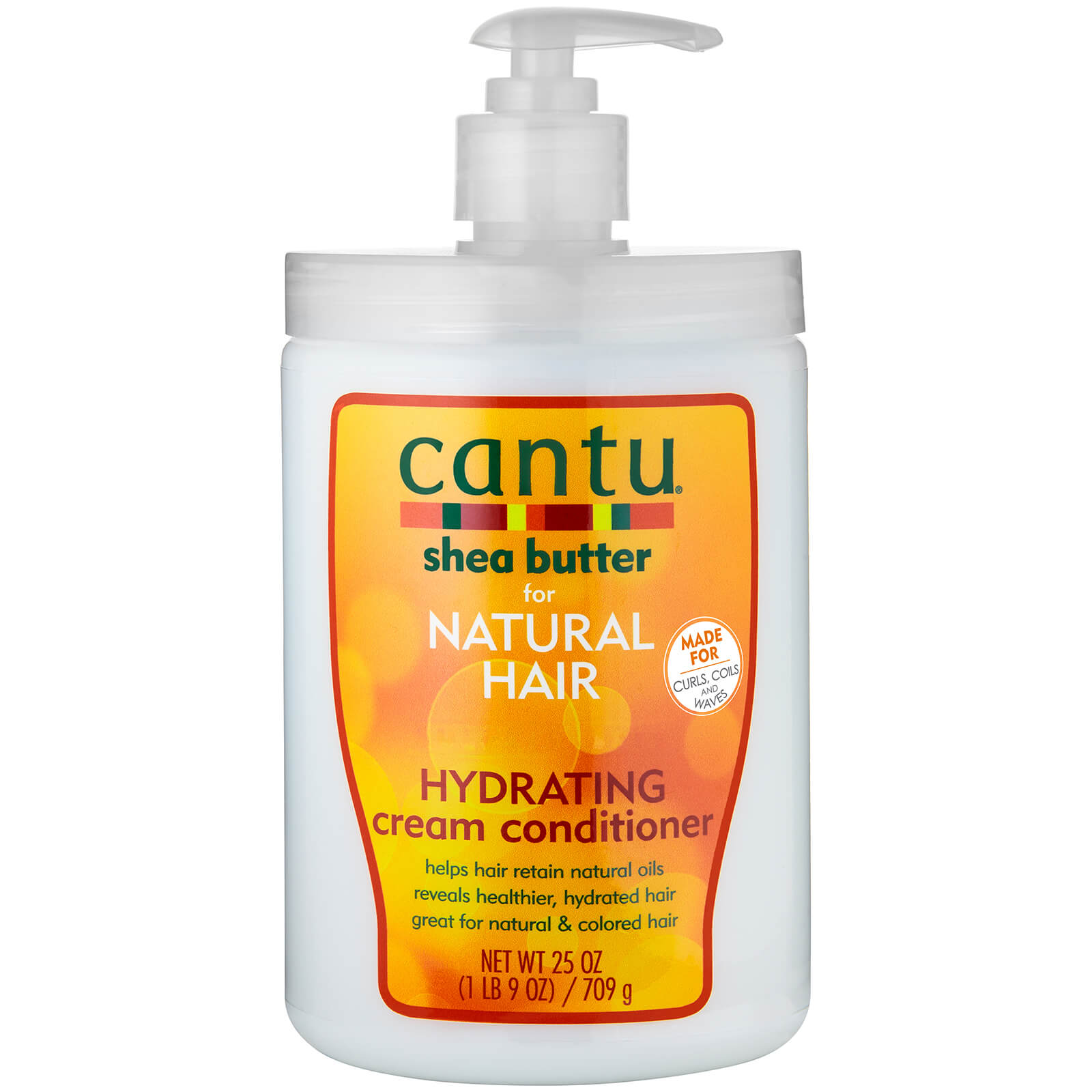 Купить Cantu Shea Butter for Natural Hair Hydrating Cream Conditioner – Salon Size 25 oz
