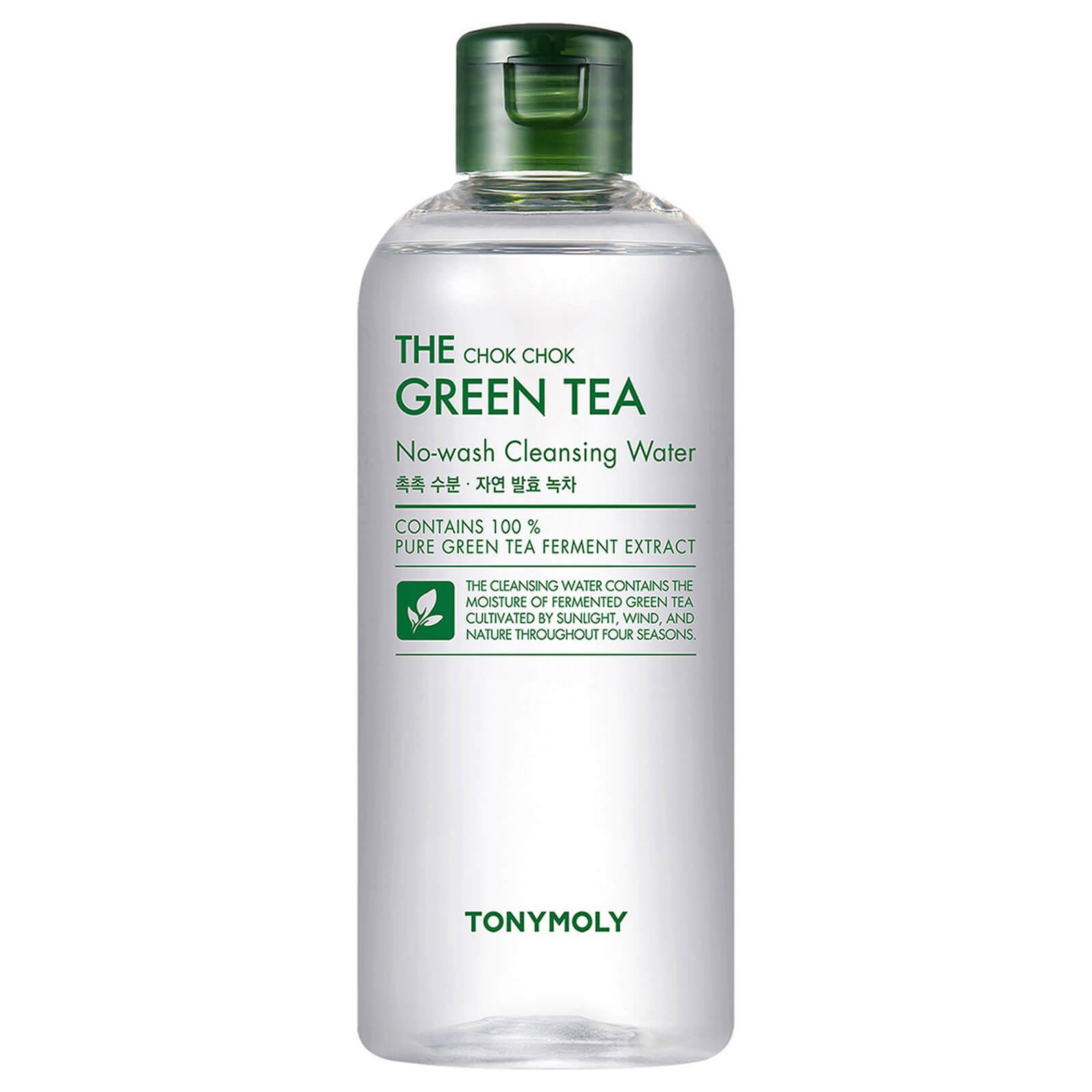 Купить TONYMOLY The Chok Chok Green Tea No-Wash Cleansing Water 300ml