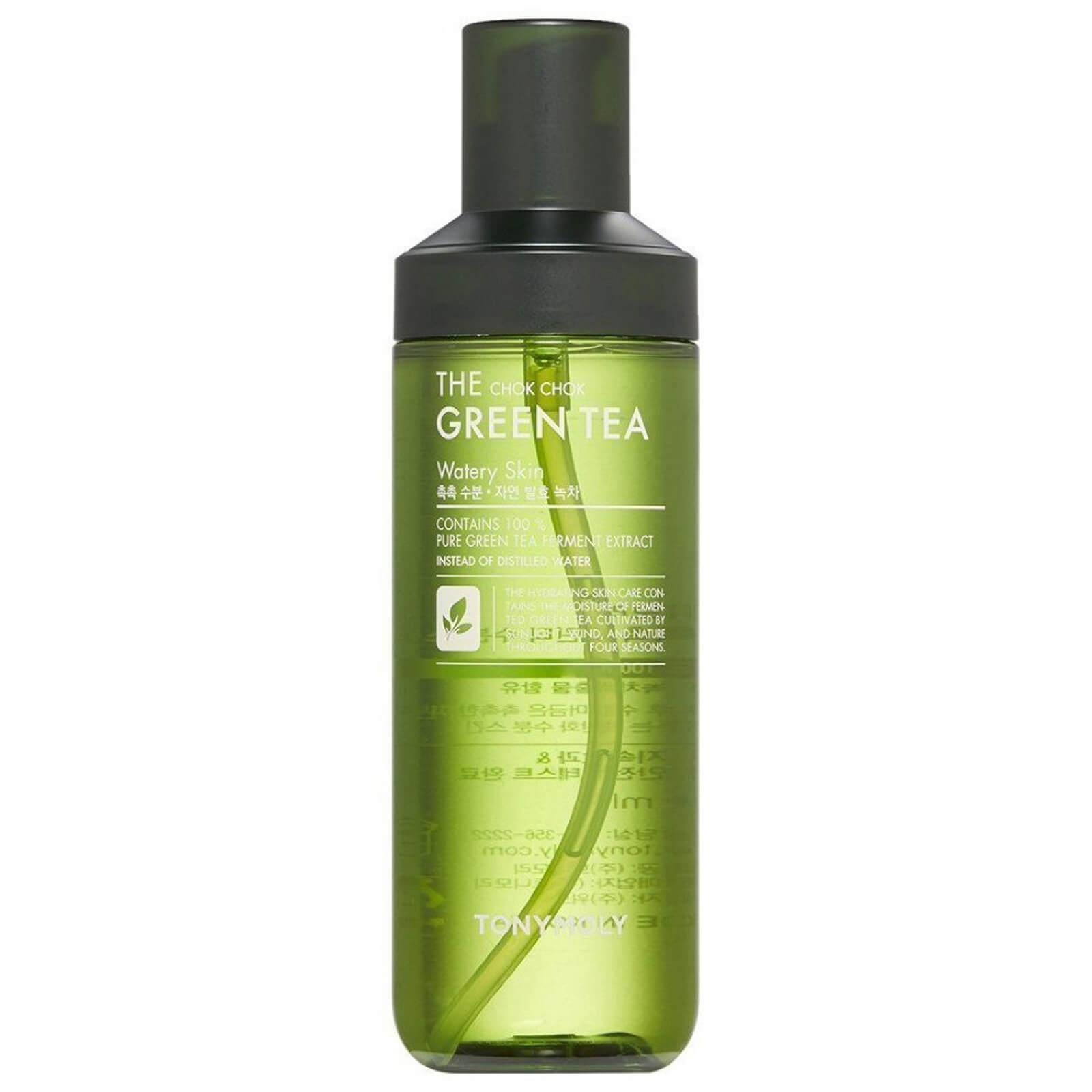Купить TONYMOLY The Chok Chok Green Tea Watery Skin Toner 180ml