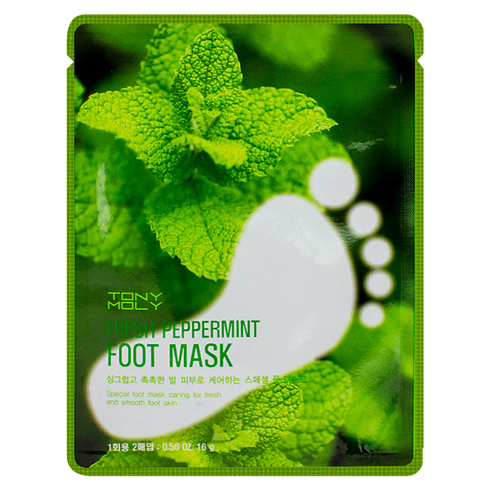 Купить TONYMOLY Fresh Peppermint Foot Mask 16g