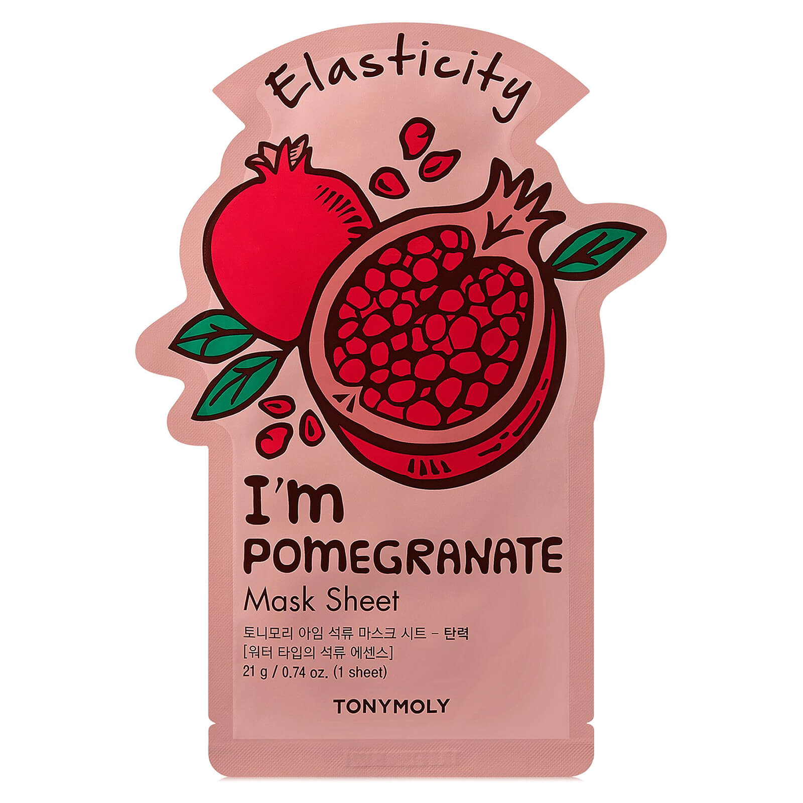 Купить TONYMOLY I'm Pomegranate Sheet Mask 21ml