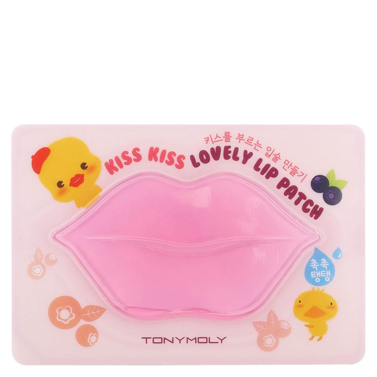 Купить TONYMOLY Kiss Kiss Lovely Lip Patch In Berry 10g