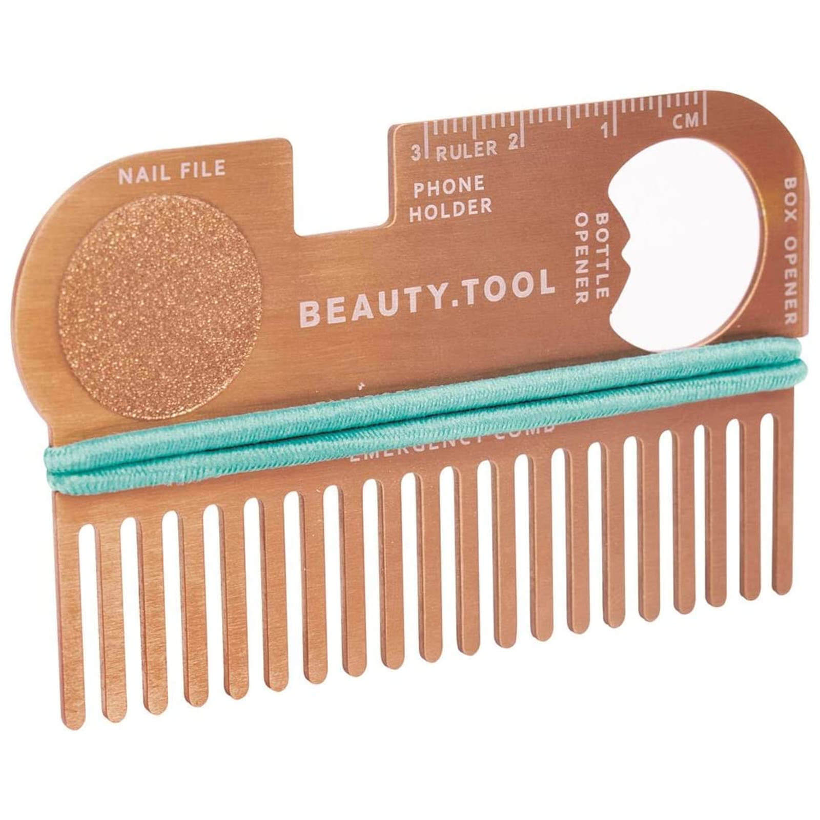 Image of Rose Gold Credit Card Beauty Tool