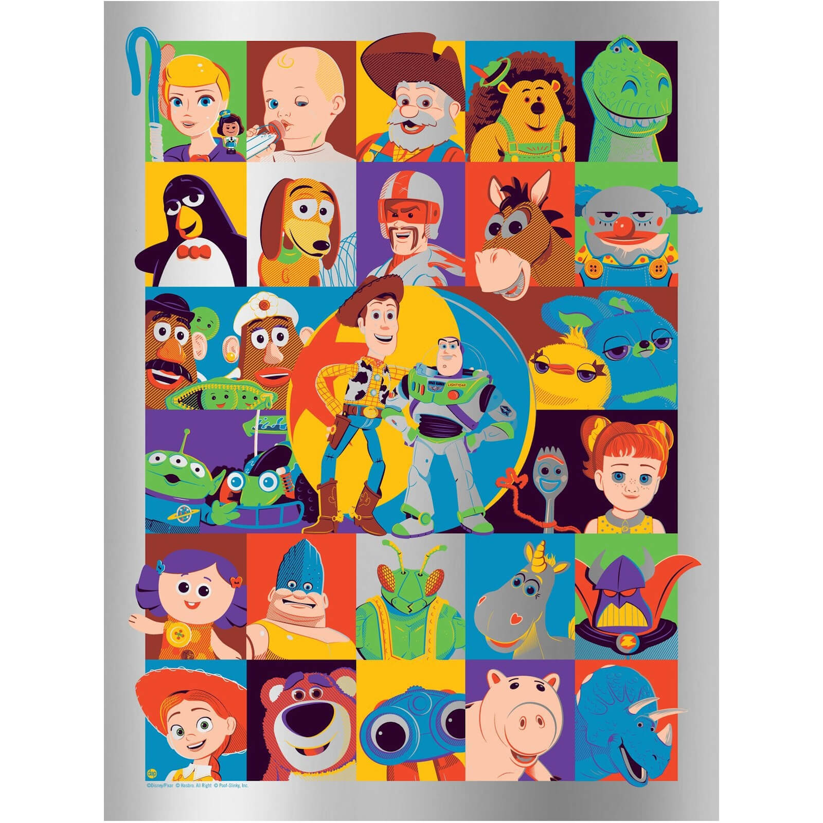 Image of Disney's Toy Story By Dave Perillo - Foil Edition