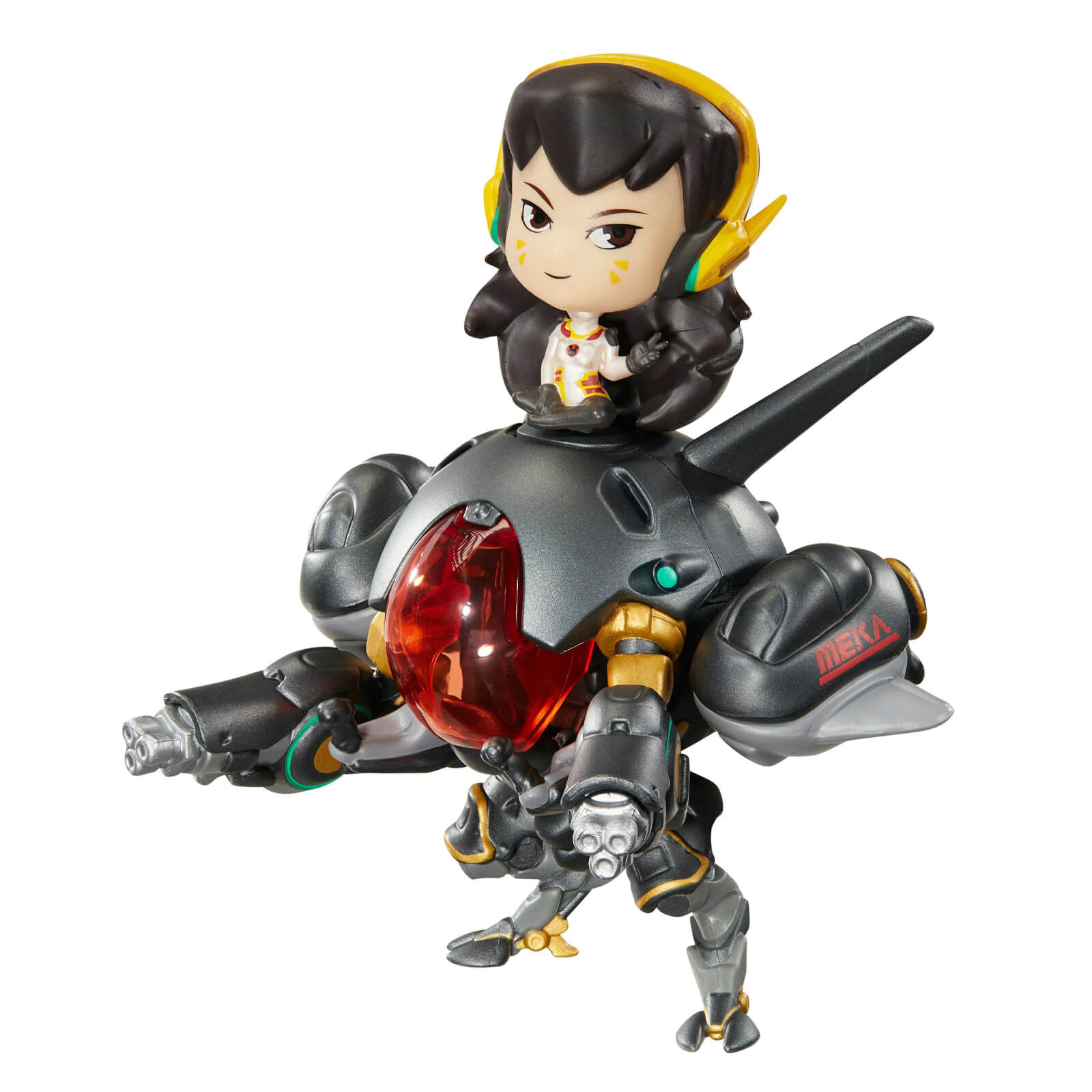 Image of Overwatch Cute But Deadly D.Va & Meka Carbon Edition Figure